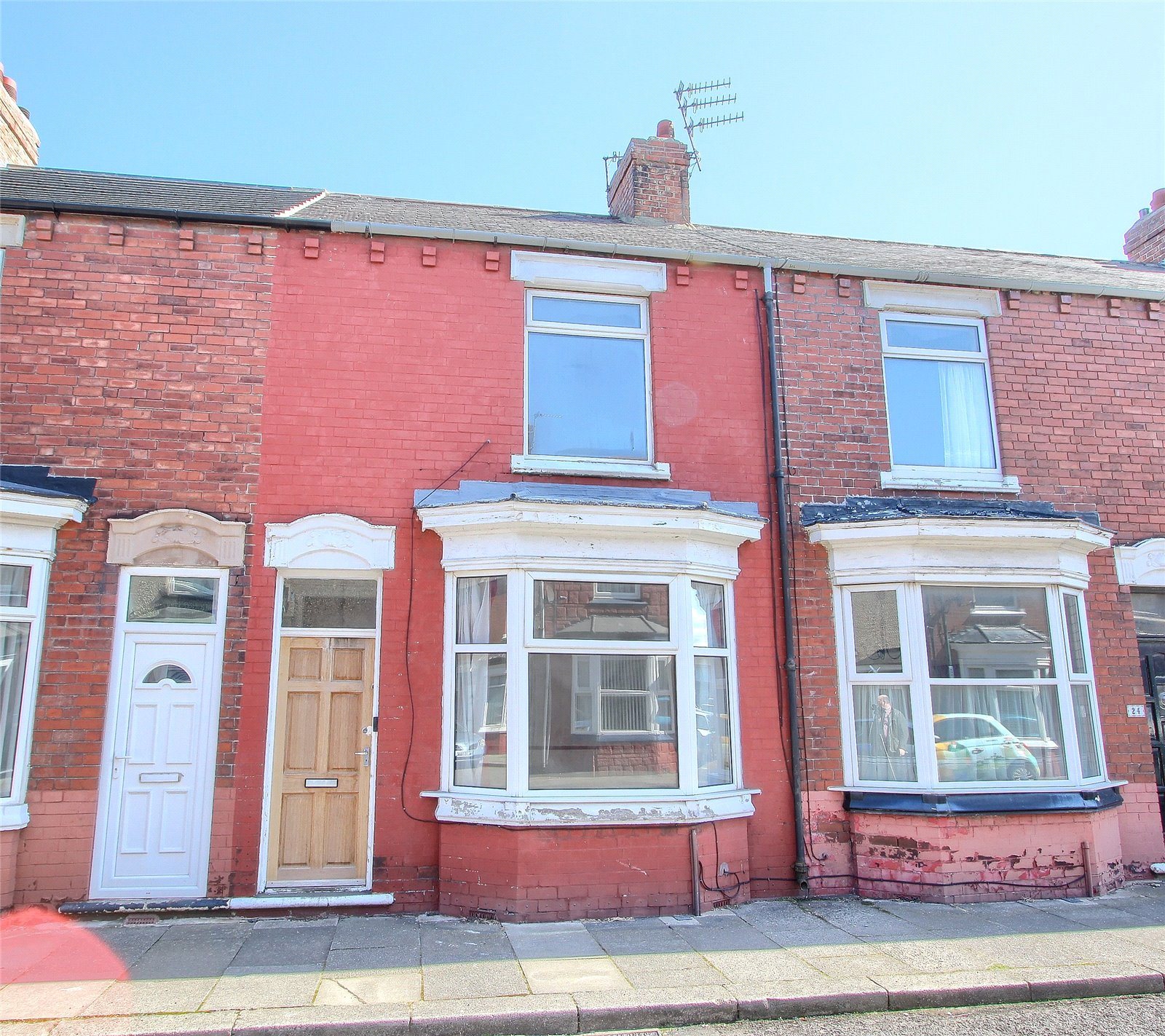 2 bed house for sale in Fitzwilliam Street, Redcar  - Property Image 1