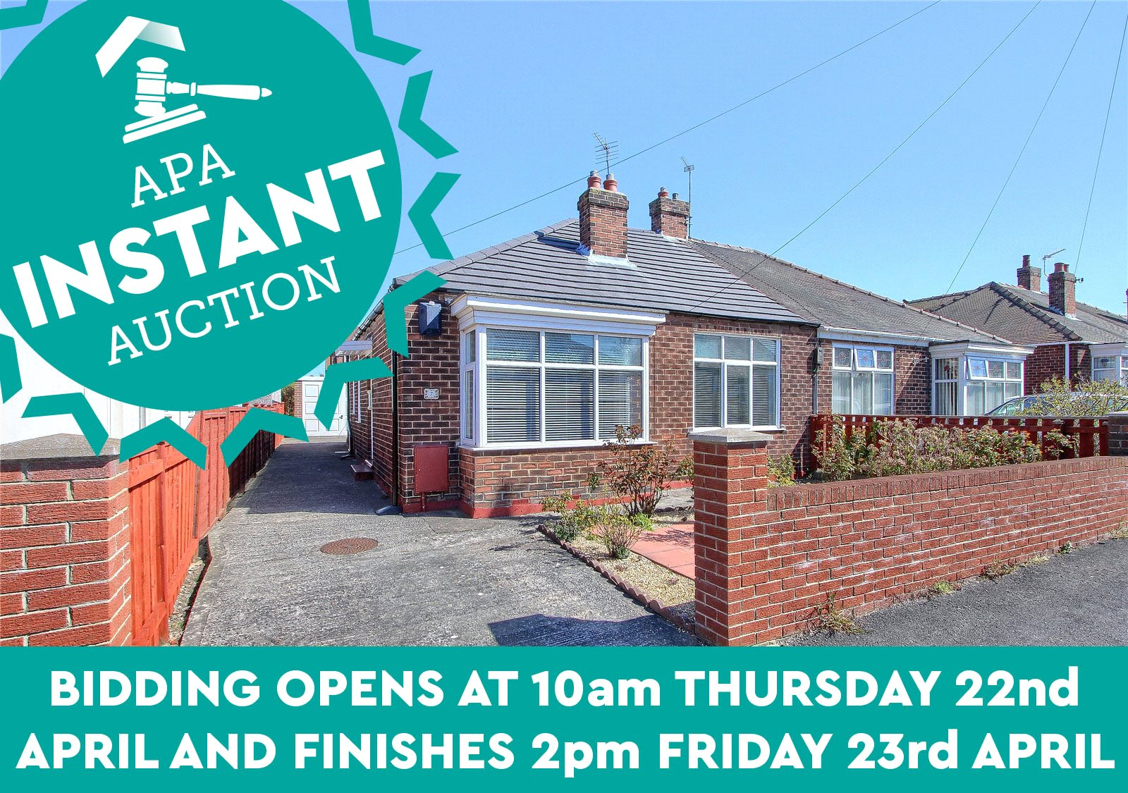 3 bed bungalow for sale in Lavender Court, Marske-by-the-Sea 1