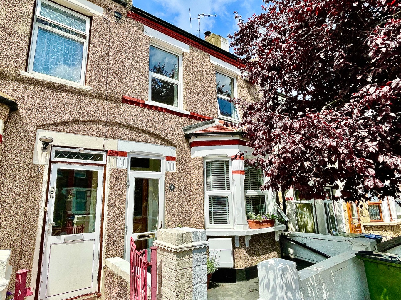 2 bed terraced house for sale in Ingledew Road, London  - Property Image 1