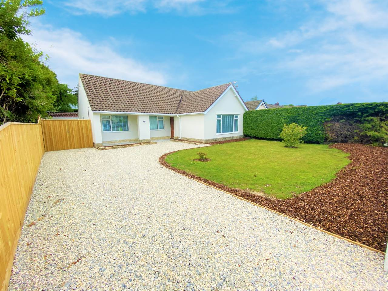 * DETACHED BUNGALOW * COMPLETELY RE-FURBISHED * THREE DOUBLE BEDROOMS * RE WIRED * NEW HEATING SYSTEM * OPEN PLAN KITCHEN/DINER WITH BI-FOLD DOORS * UTILITY ROOM * LUXURIOUS BATHROOM * OFF ROAD PARKING & GARAGE *  LARGE SECLUDED GARDEN * NO CHAIN *