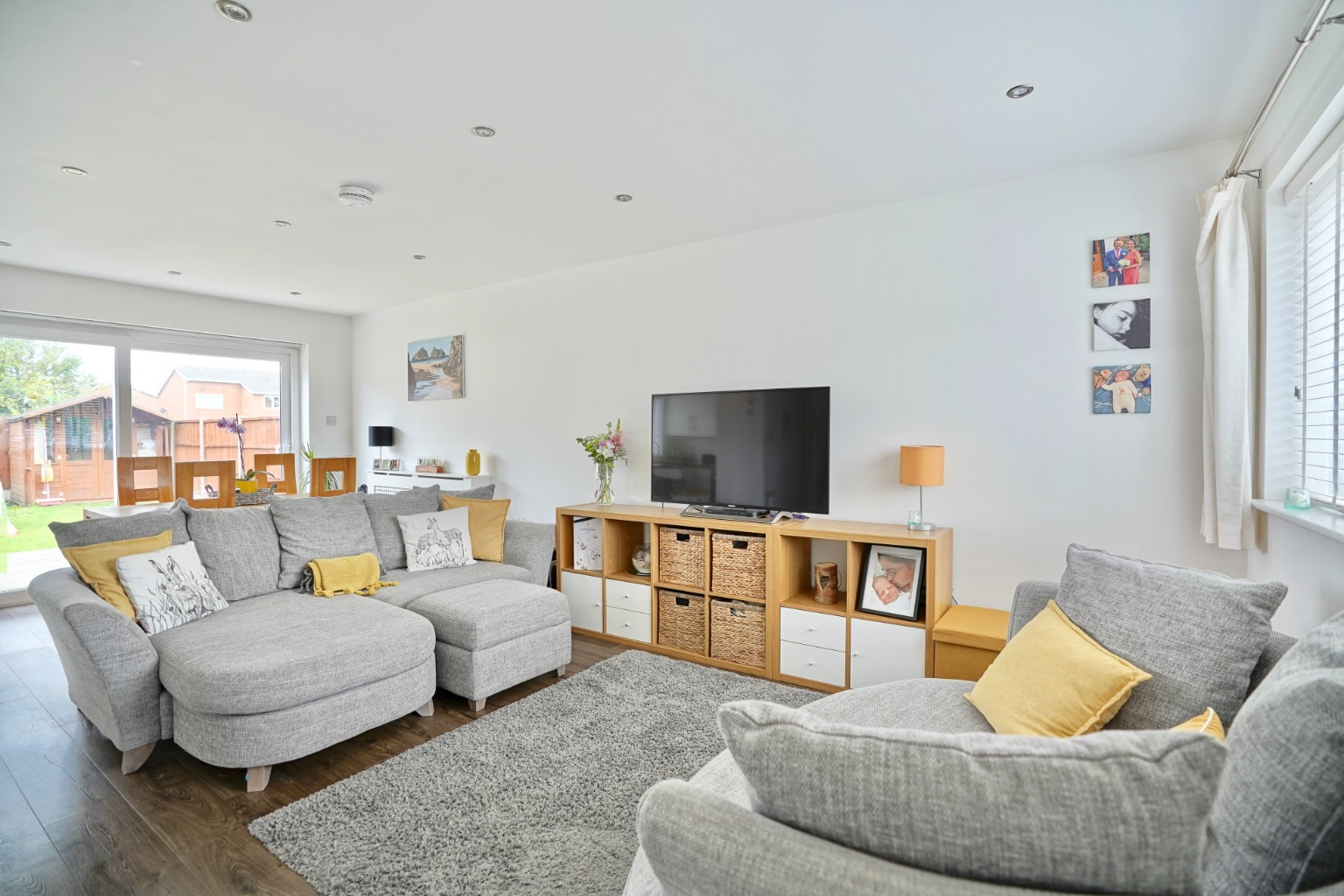 3 bed semi-detached house for sale in Burns Court, St. Neots  - Property Image 2