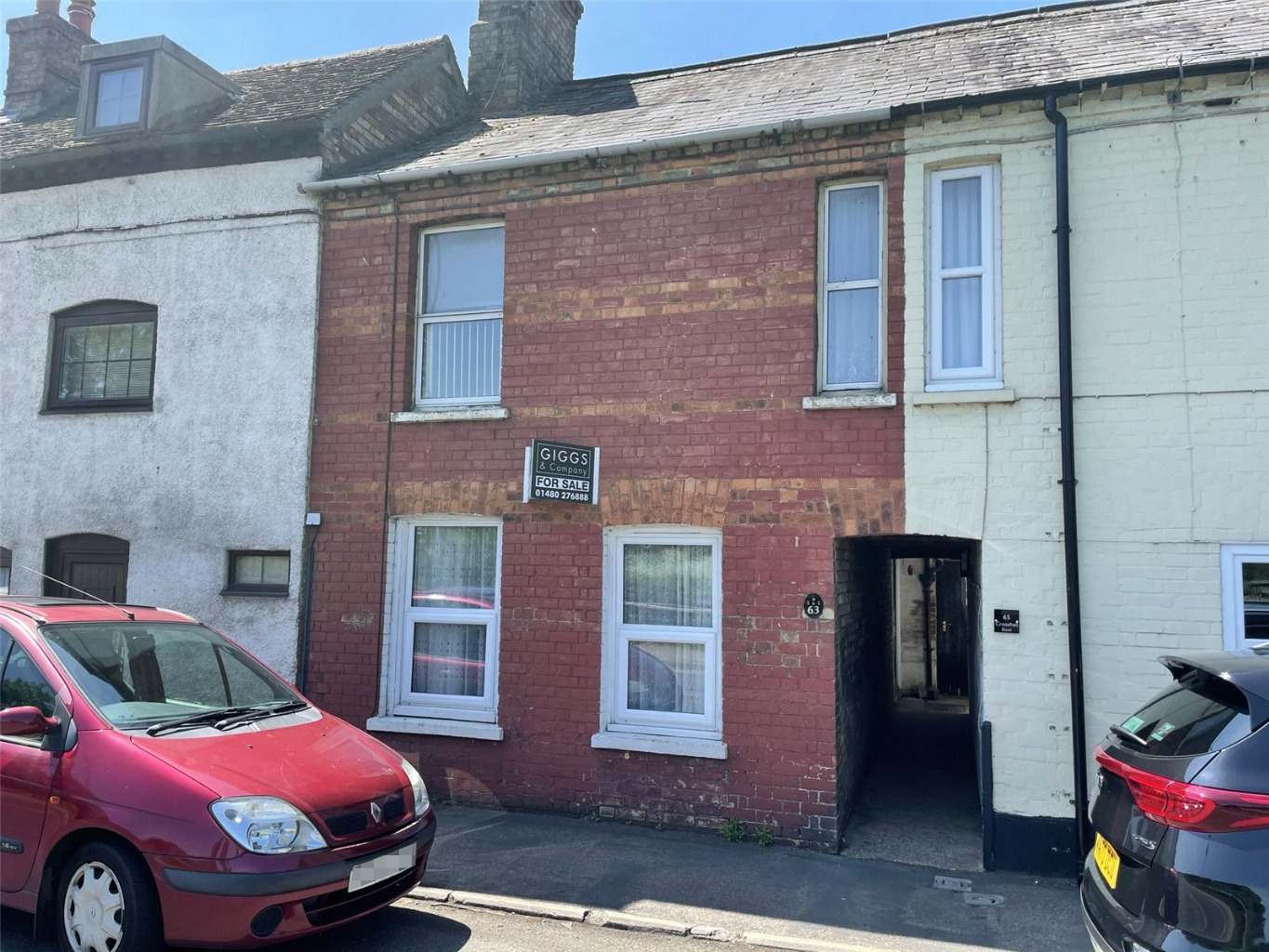 2 bed terraced house for sale in Crosshall Road, St. Neots  - Property Image 1