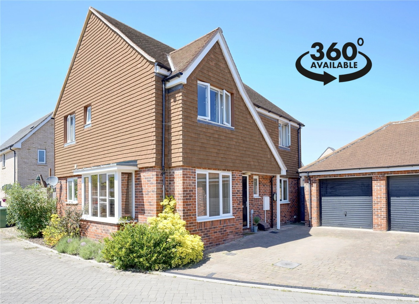 4 bed detached house for sale in Wood Ridge Crescent, St. Neots  - Property Image 1