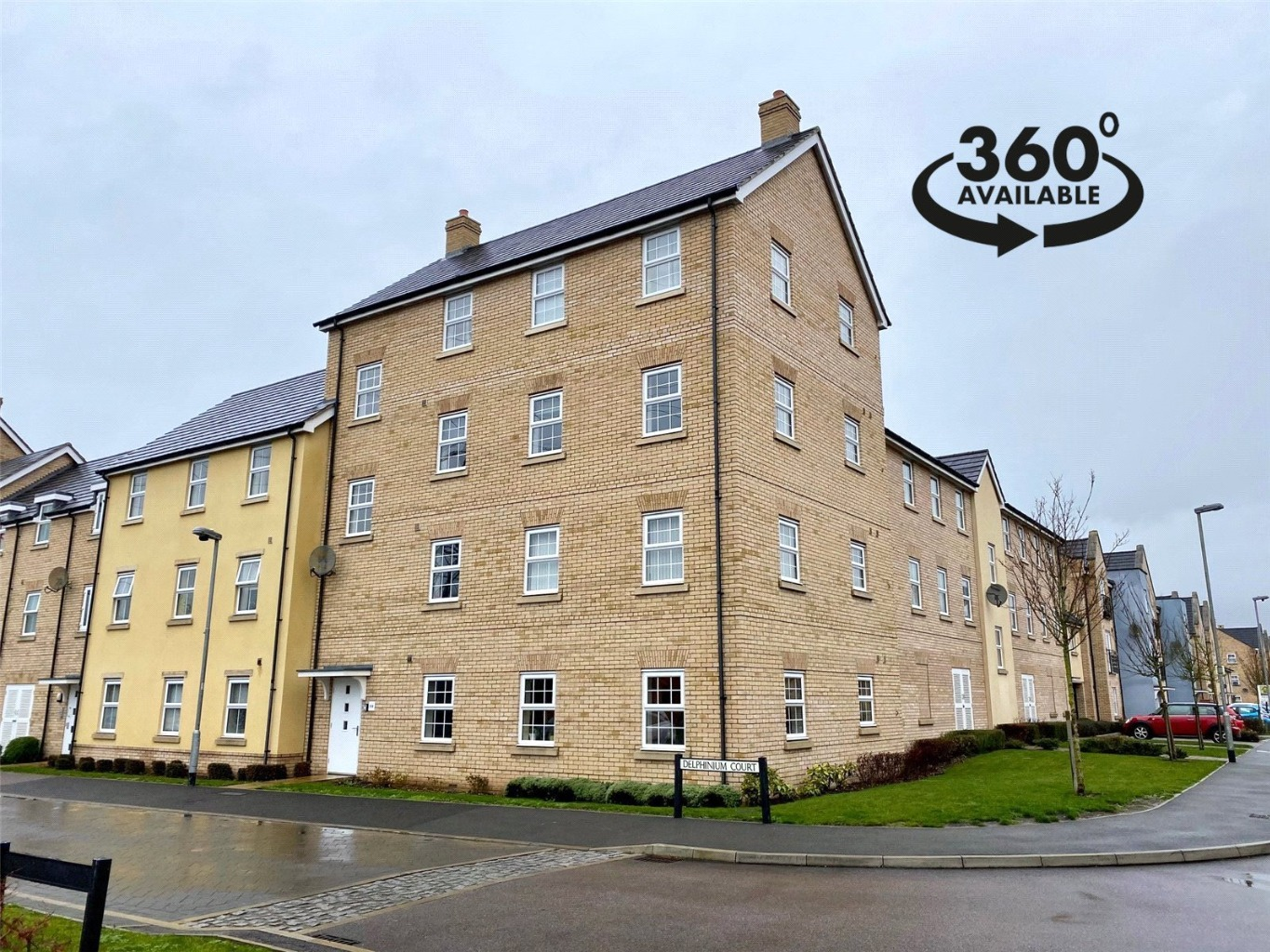 2 bed apartment for sale in Delphinium Court, St. Neots, PE19