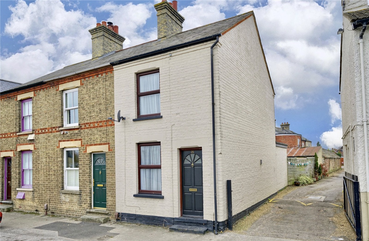 2 bed end of terrace house for sale in Crosshall Road, St. Neots, PE19