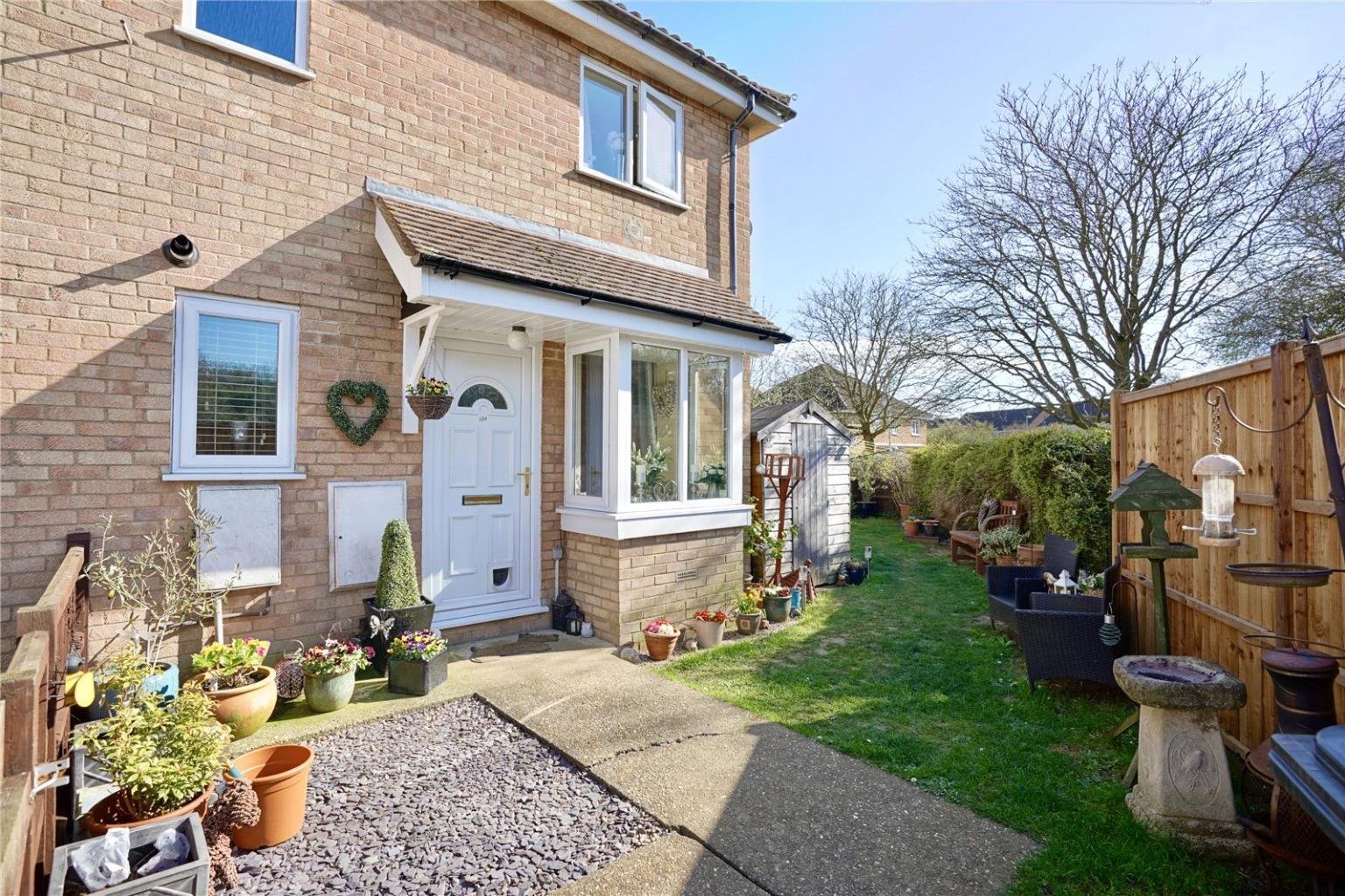 1 bed terraced house for sale in Muntjac Close, St. Neots, PE19