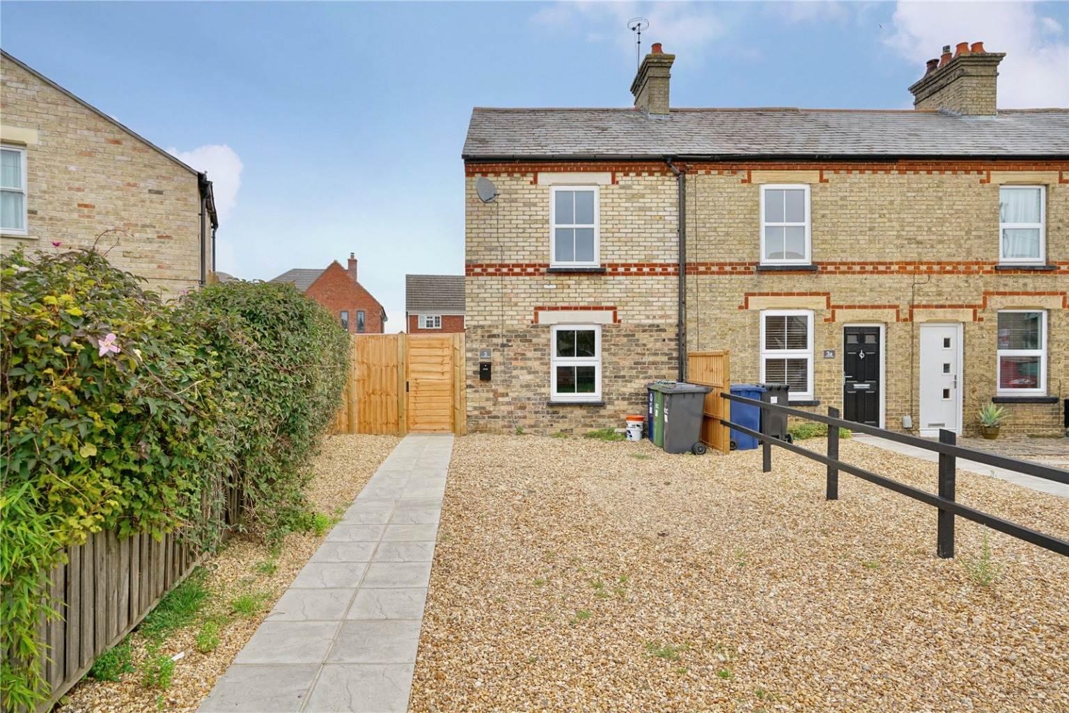 2 bed end of terrace house for sale in Crosshall Road, St. Neots  - Property Image 1