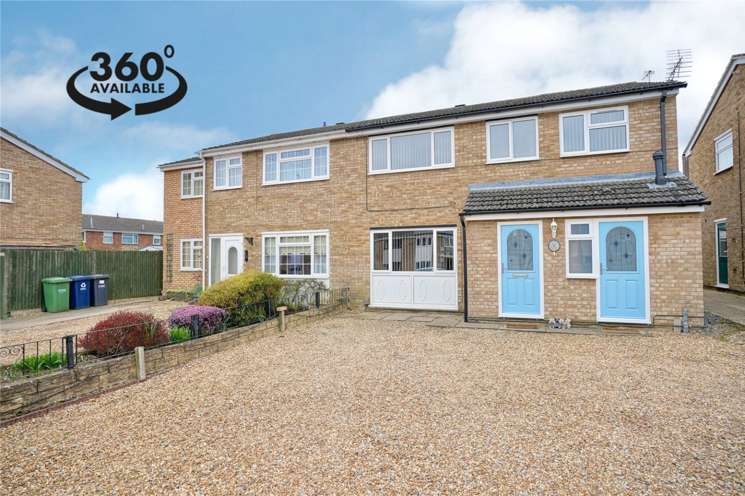 4 bed semi-detached house for sale in Kenilworth Close, St. Neots  - Property Image 1