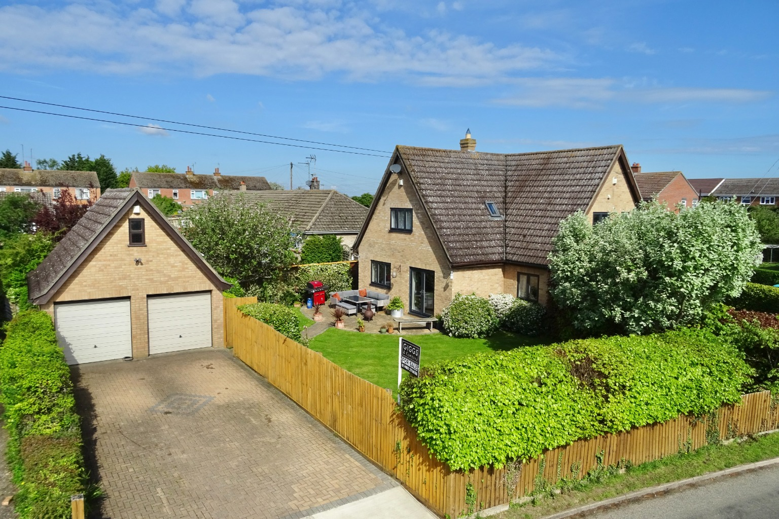4 bed detached house for sale in The Gables, The Green, Huntingdon, PE28