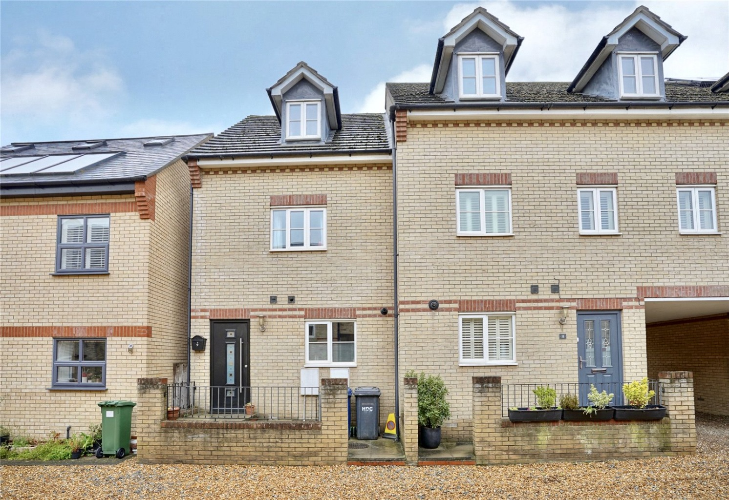 3 bed end of terrace house for sale in West Street, St. Neots, PE19