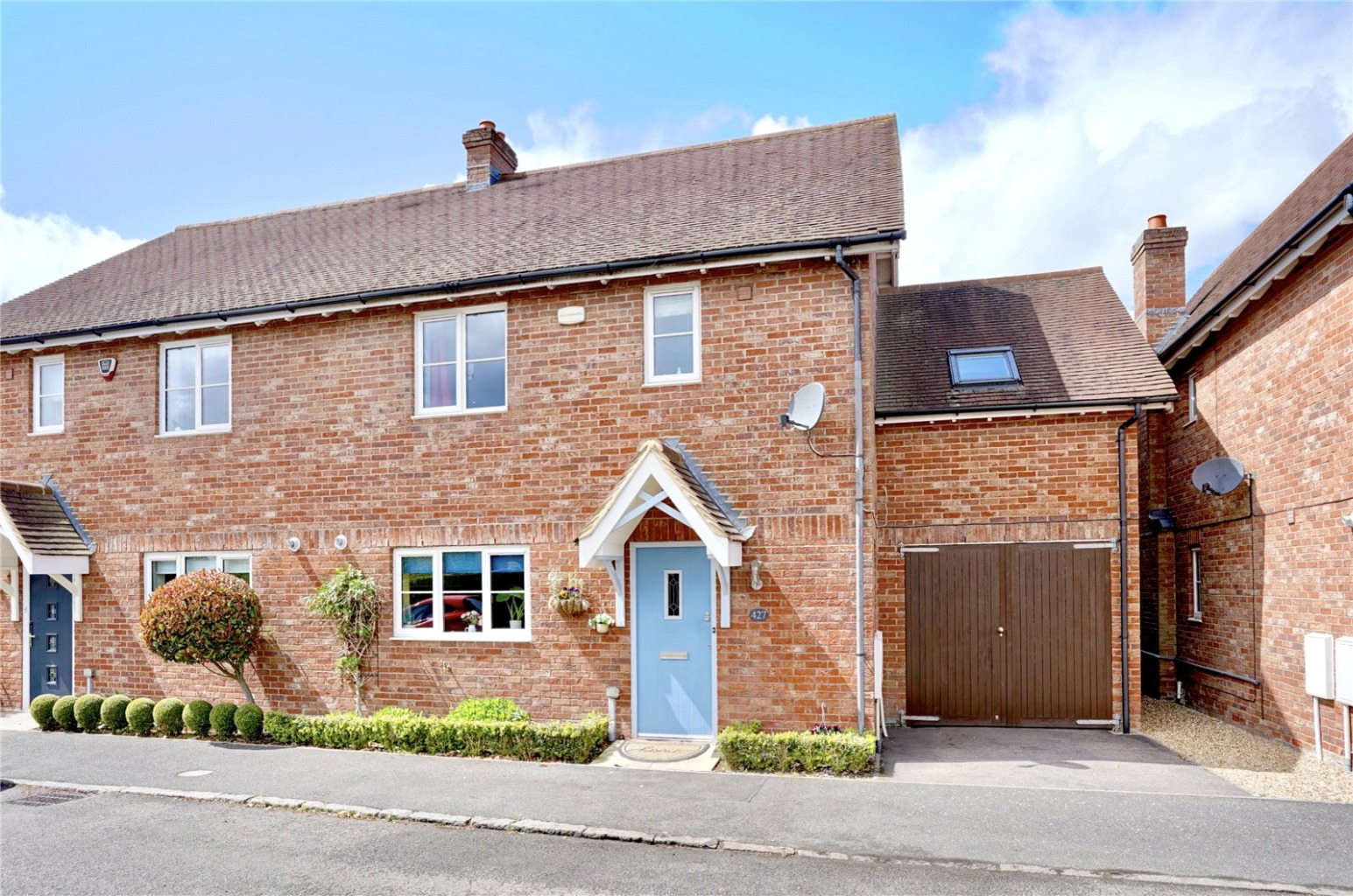 4 bed semi-detached house for sale in Great North Road, St. Neots - Property Image 1