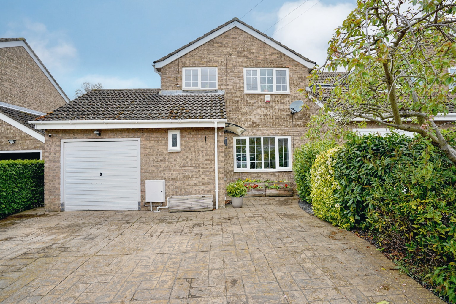 4 bed detached house for sale in Staughton Place, St. Neots, PE19