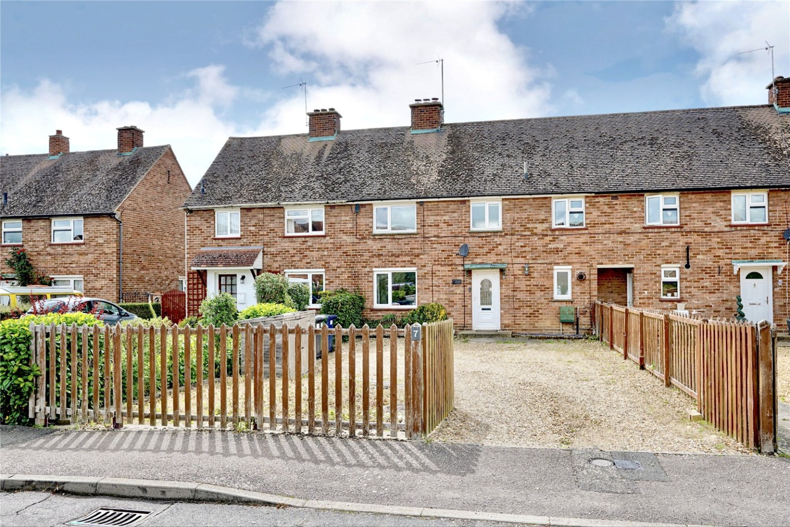 3 bed terraced house for sale in Latin Close, St. Neots  - Property Image 1