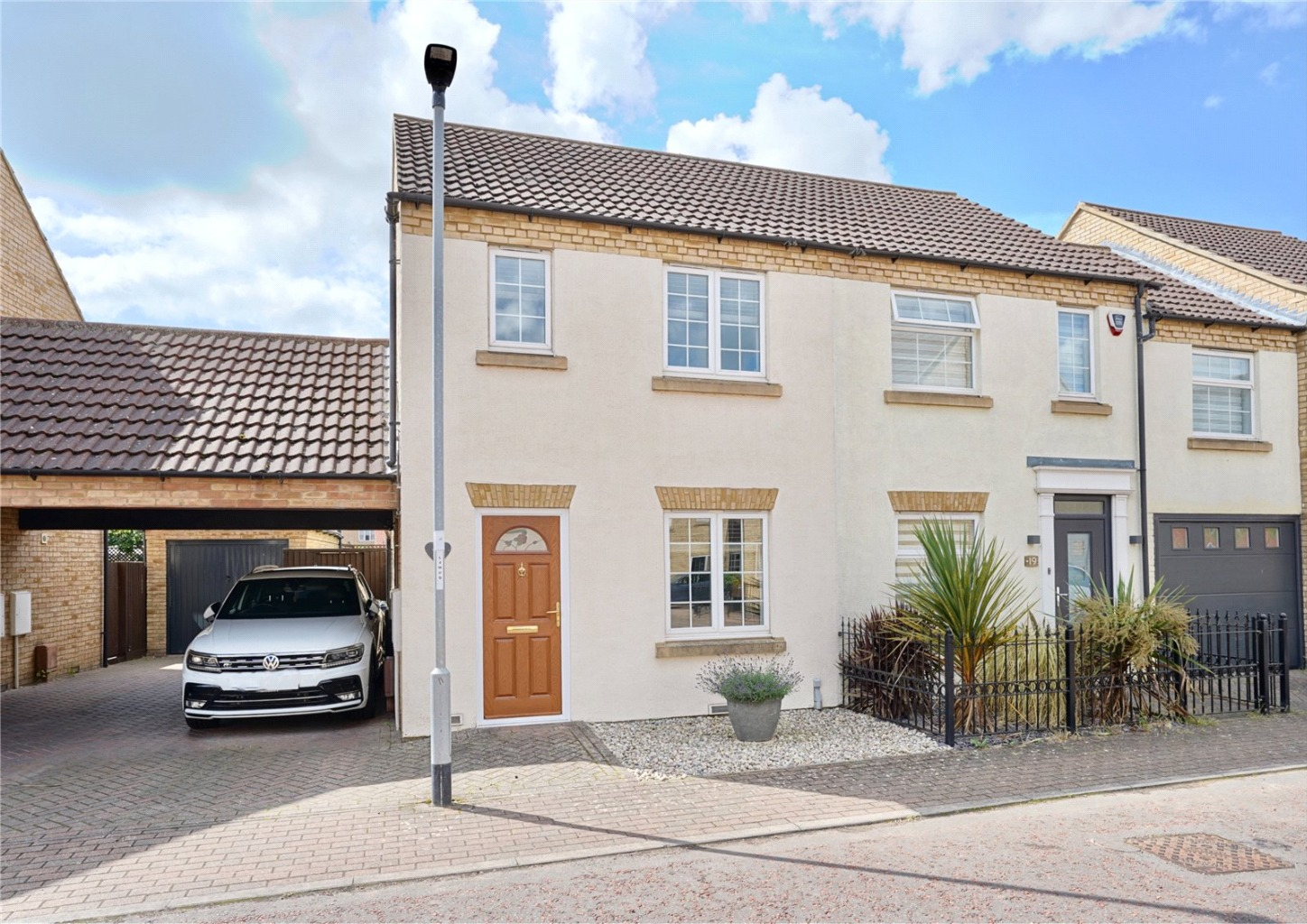 2 bed semi-detached house for sale in Ream Close, St. Neots - Property Image 1