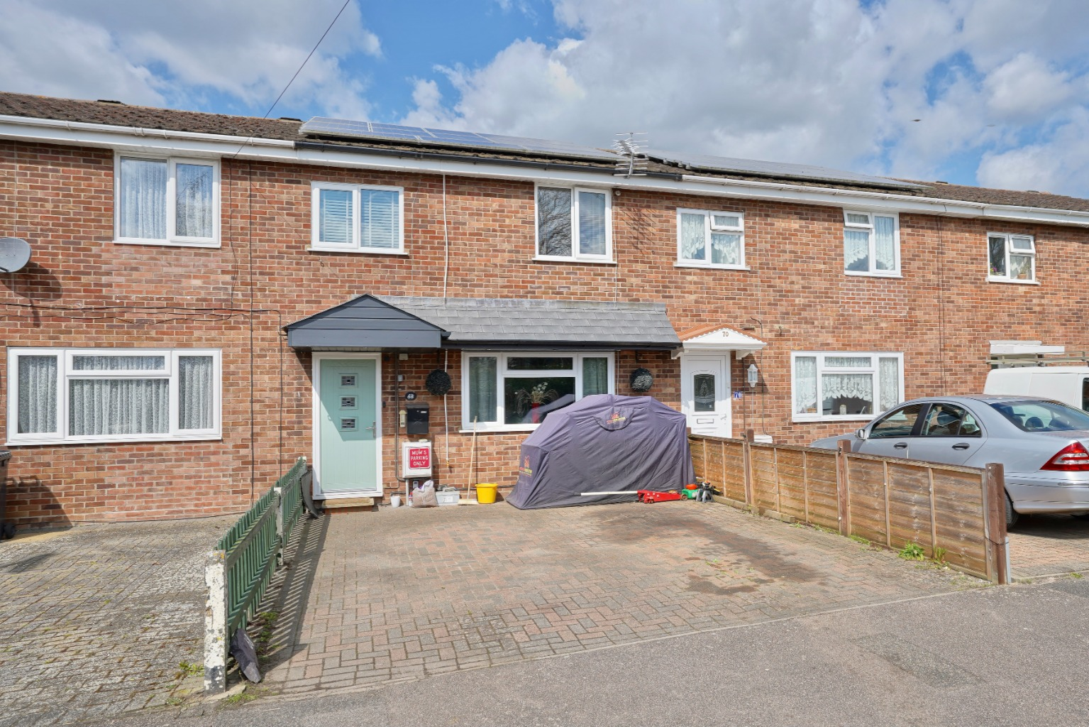 3 bed terraced house for sale in Henbrook, St. Neots  - Property Image 1