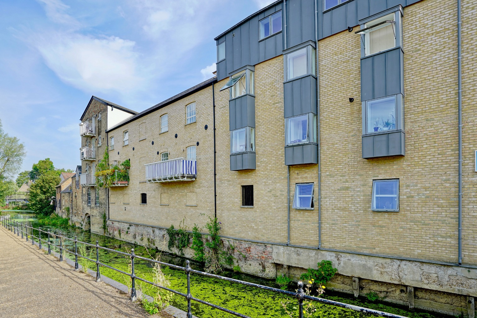 2 bed penthouse for sale in Steam Flour Mill, Church Street, St. Neots, PE19