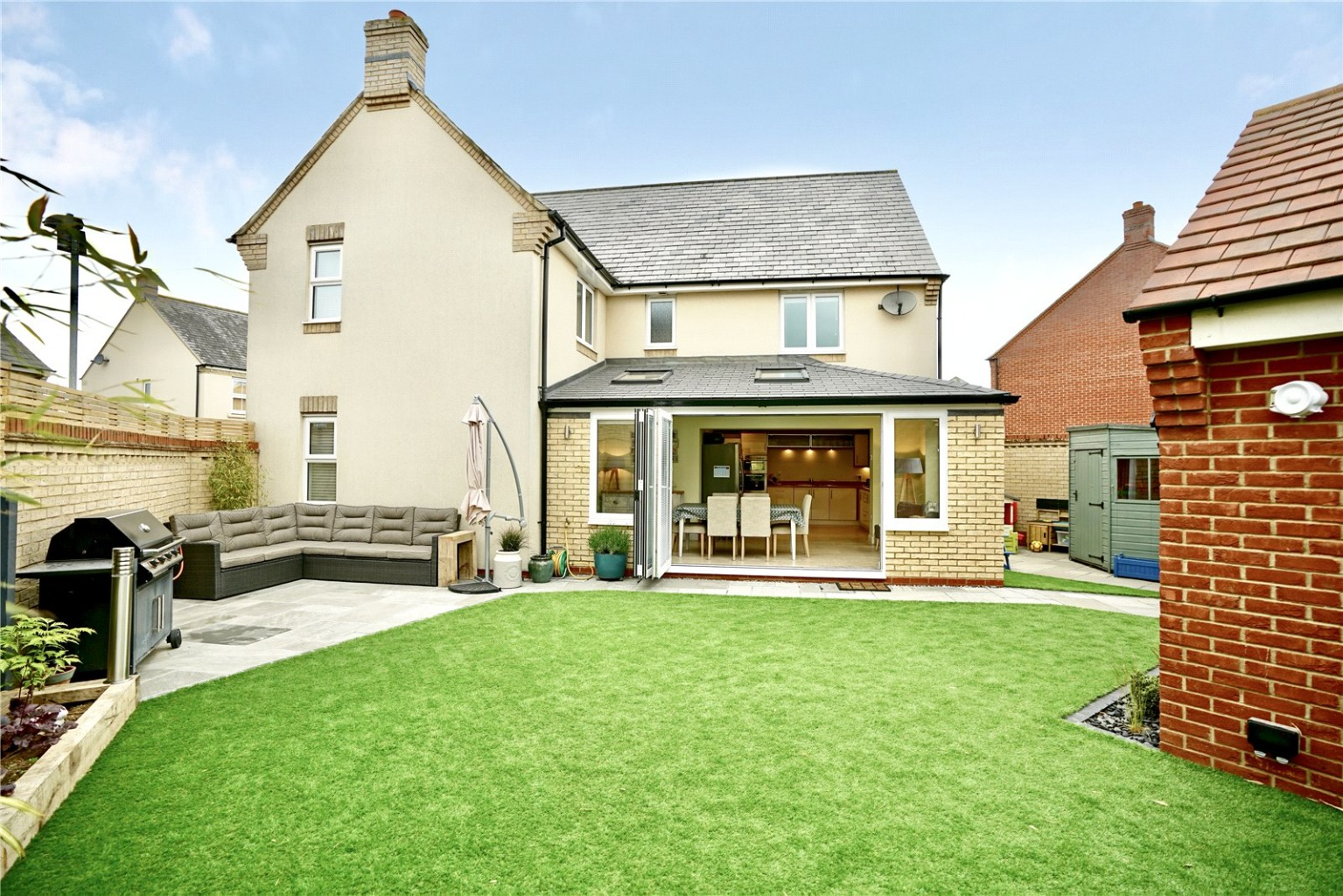 4 bed detached house for sale in Lannesbury Crescent, St. Neots  - Property Image 1