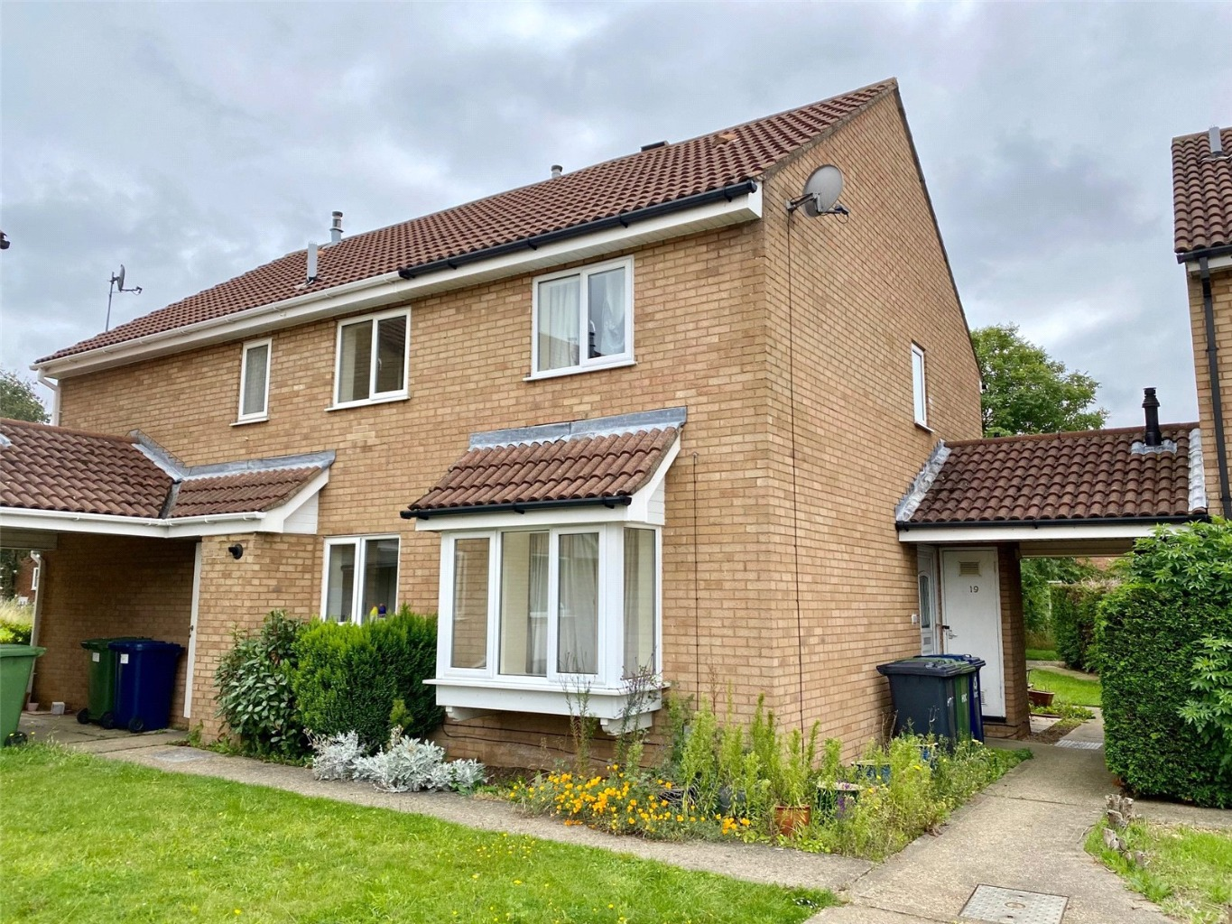 2 bed end of terrace house for sale in Roe Green, St. Neots  - Property Image 1