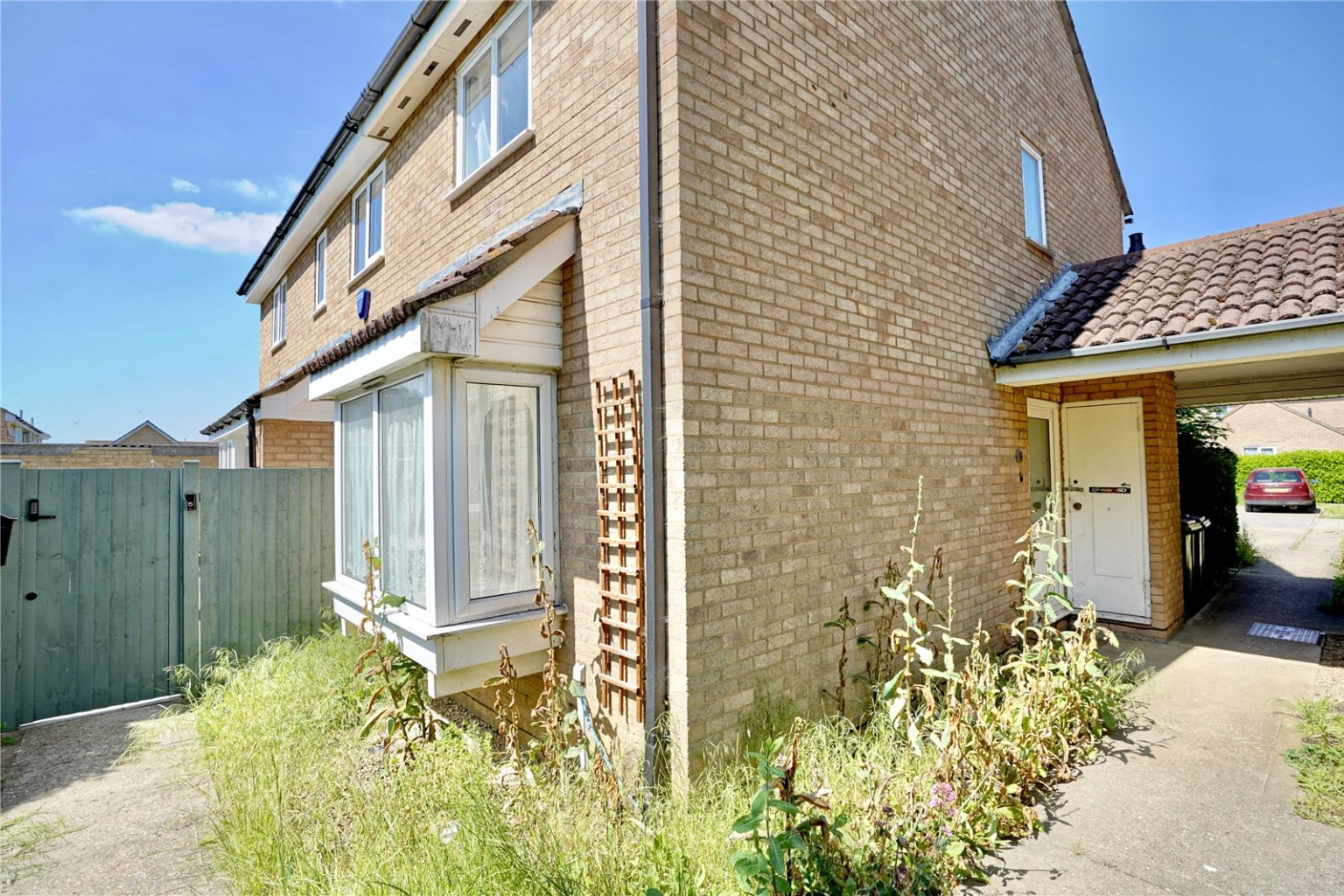 2 bed end of terrace house for sale in Roe Green, St. Neots, PE19