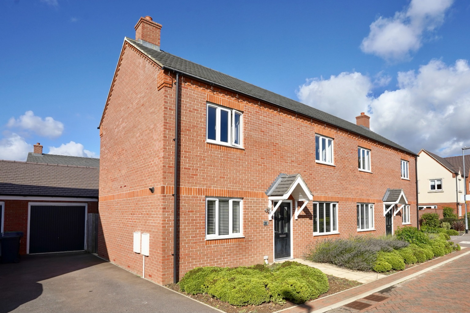 3 bed semi-detached house for sale in Whinfell Close, St. Neots  - Property Image 1