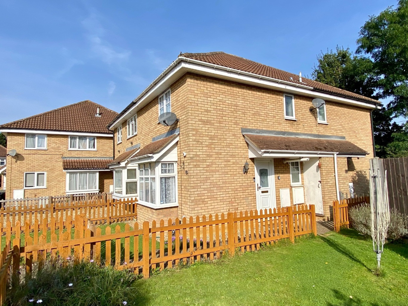 1 bed semi-detached house for sale in Meadowsweet, St. Neots, PE19