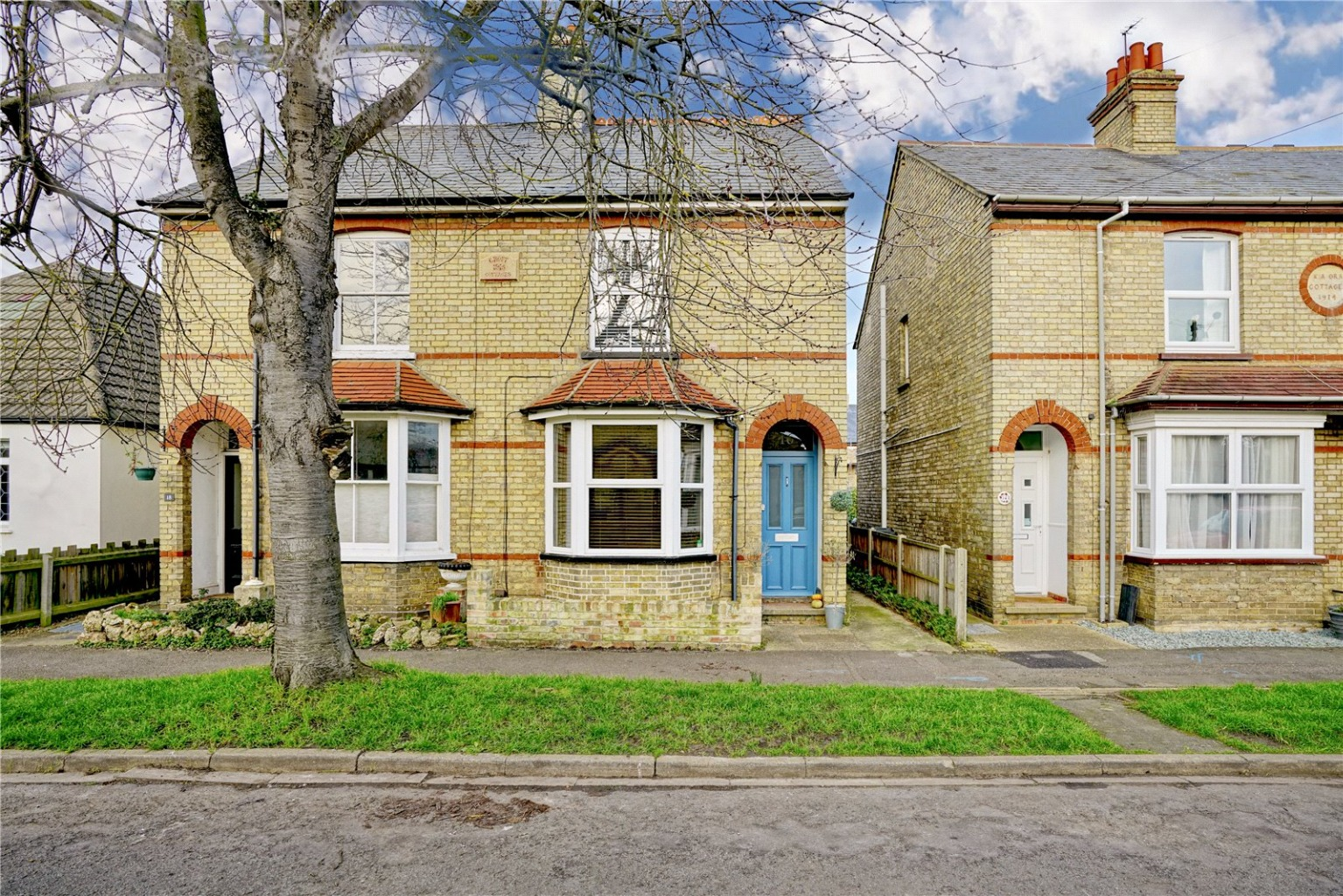 3 bed semi-detached house for sale in Rycroft Avenue, St. Neots  - Property Image 1