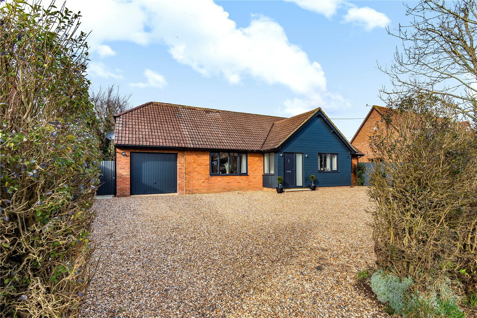 3 bed bungalow for sale in Great Gransden, SG19 3AQ, SG19