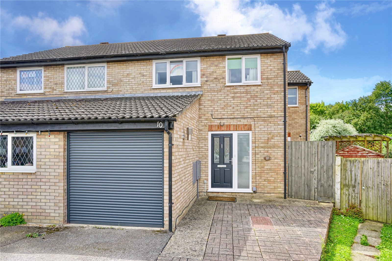 3 bed house for sale in Jellicoe Place, Eaton Socon, PE19