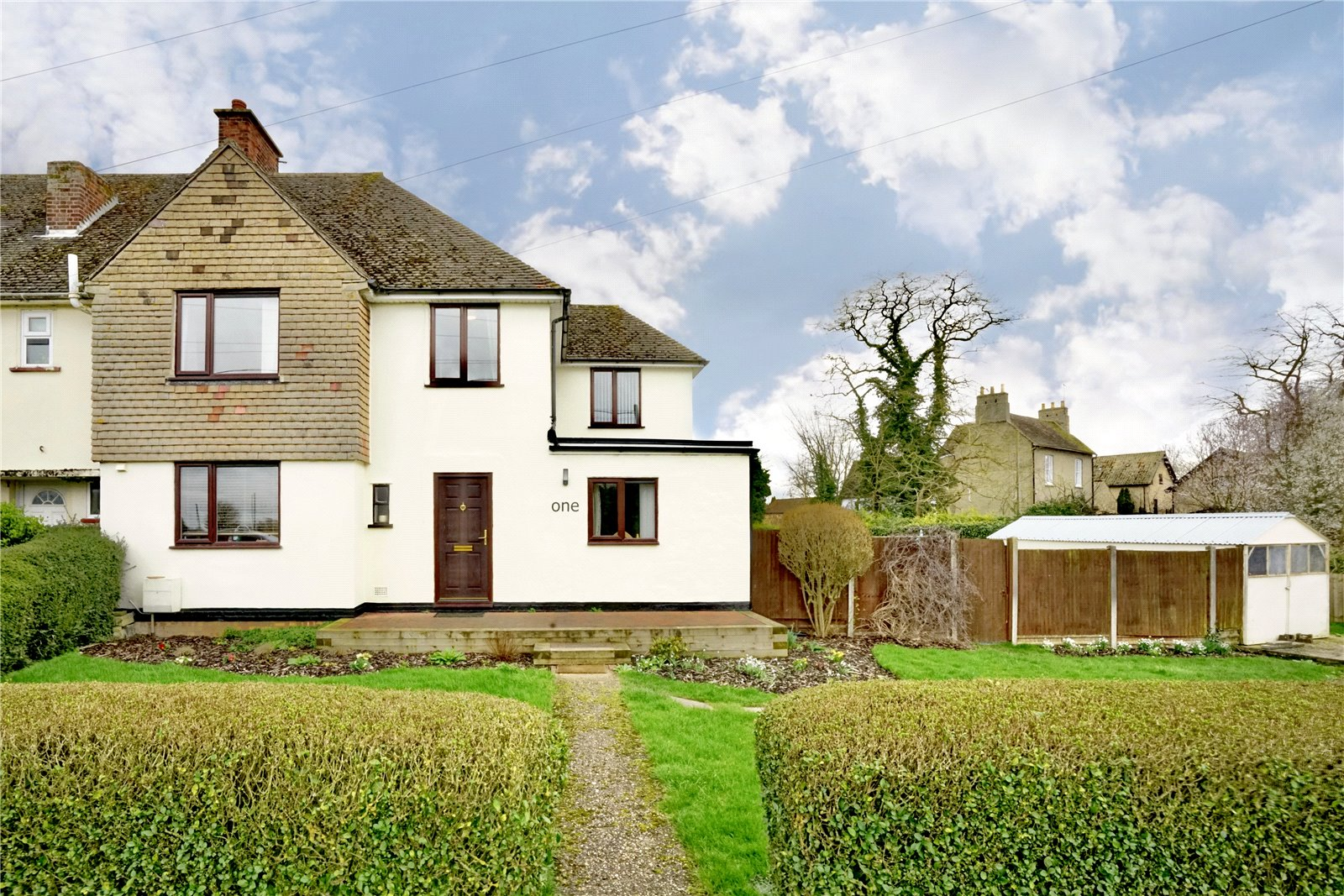 4 bed house for sale in High Street, Great Paxton, PE19