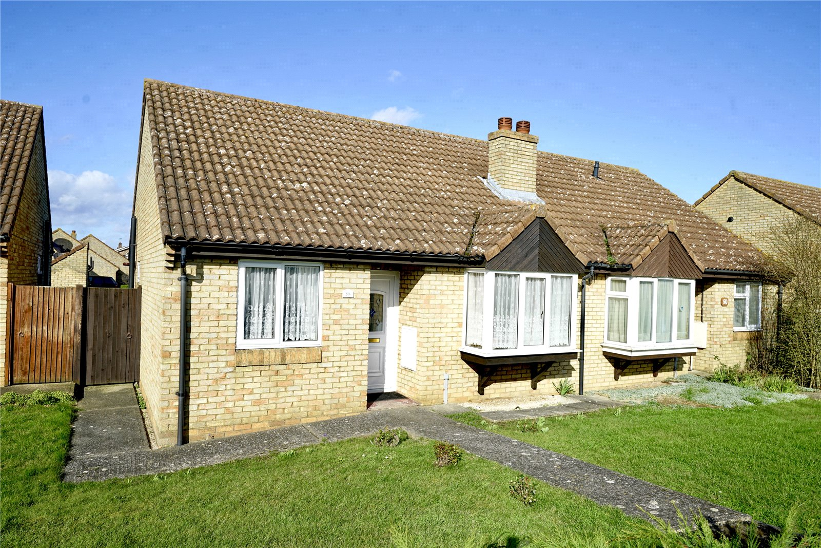 2 bed bungalow for sale in Bushmead Road, Eaton Socon, PE19