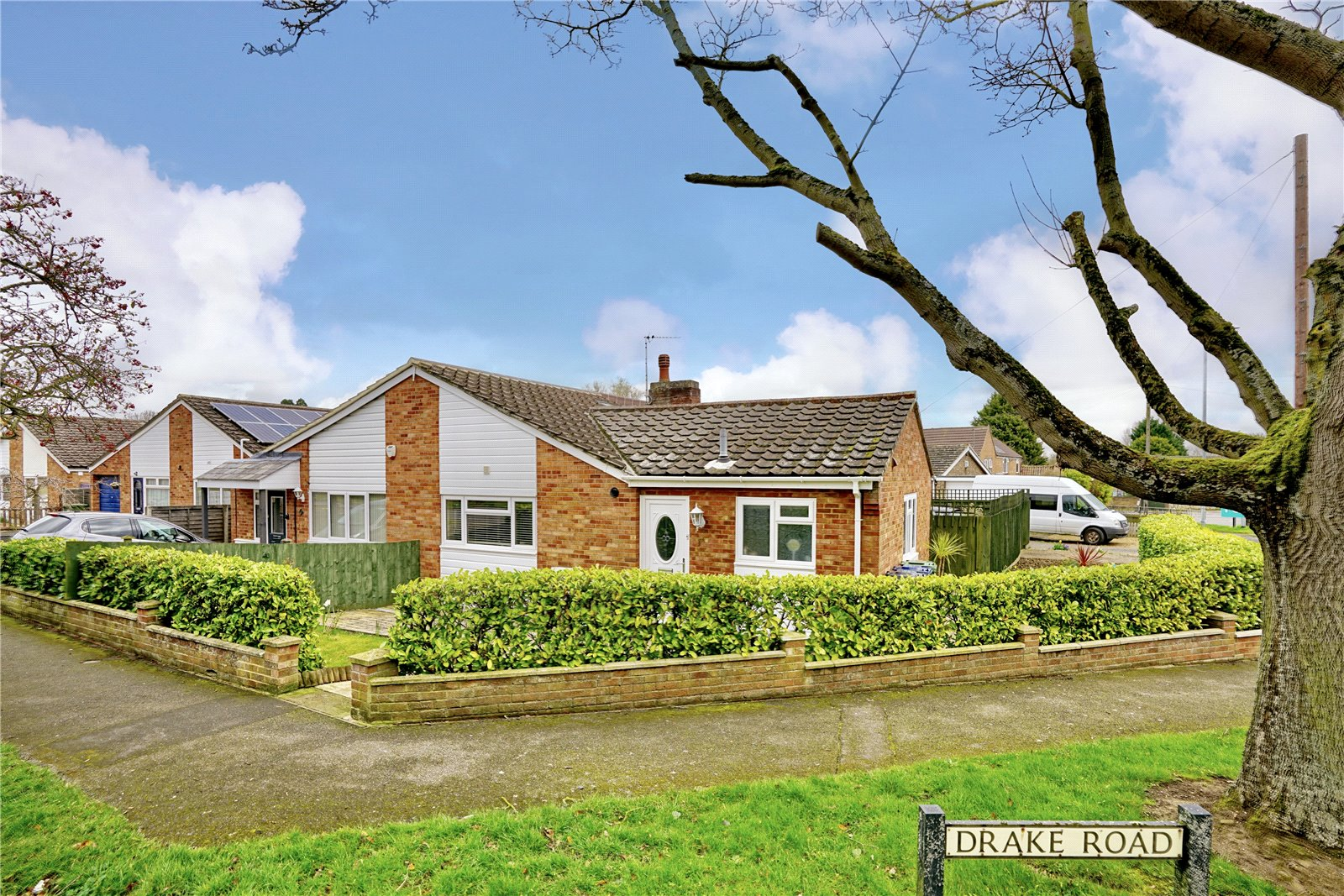 2 bed bungalow for sale in Drake Road, Eaton Socon, PE19