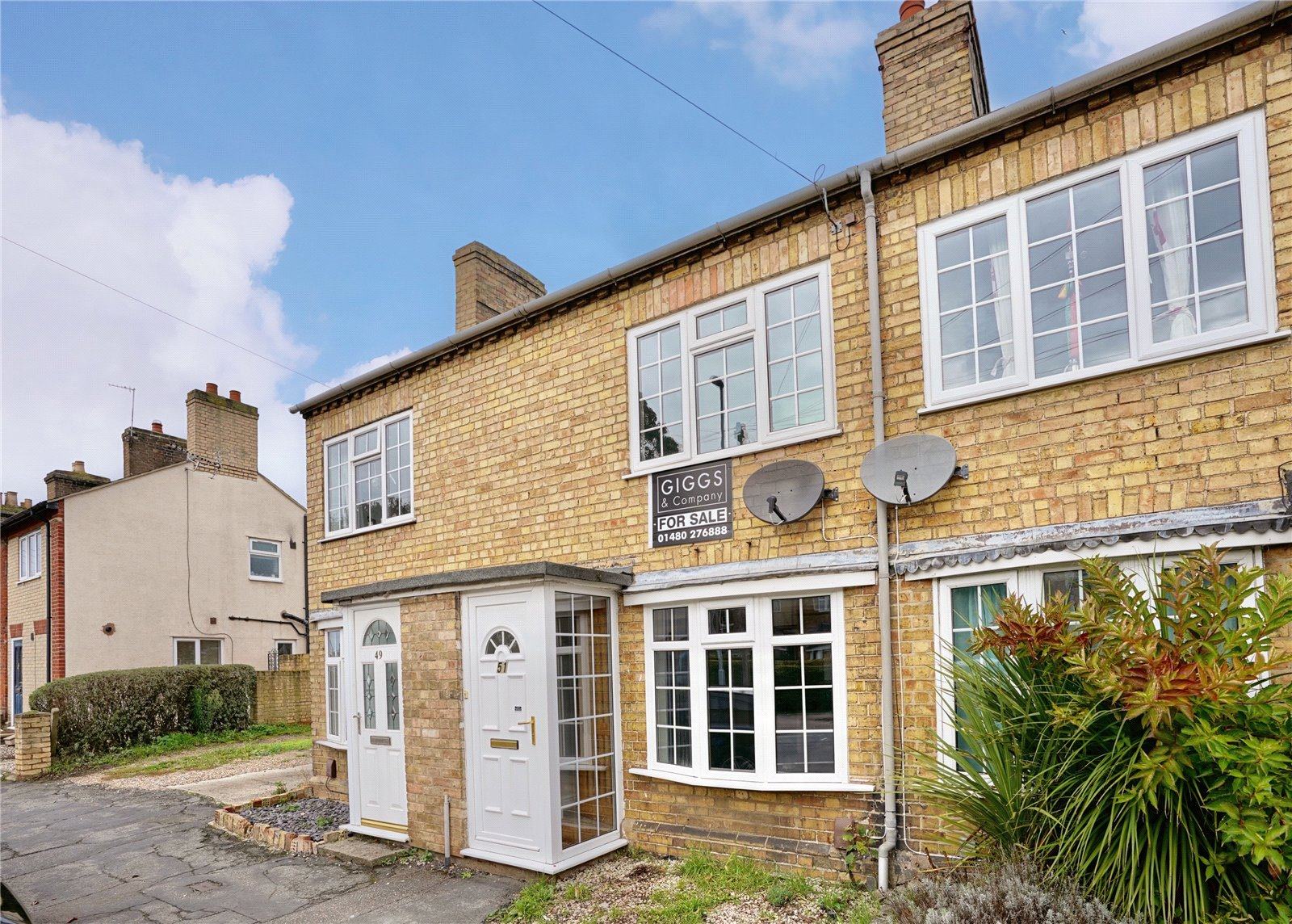 2 bed house for sale in Eaton Ford, PE19 7BA - Property Image 1