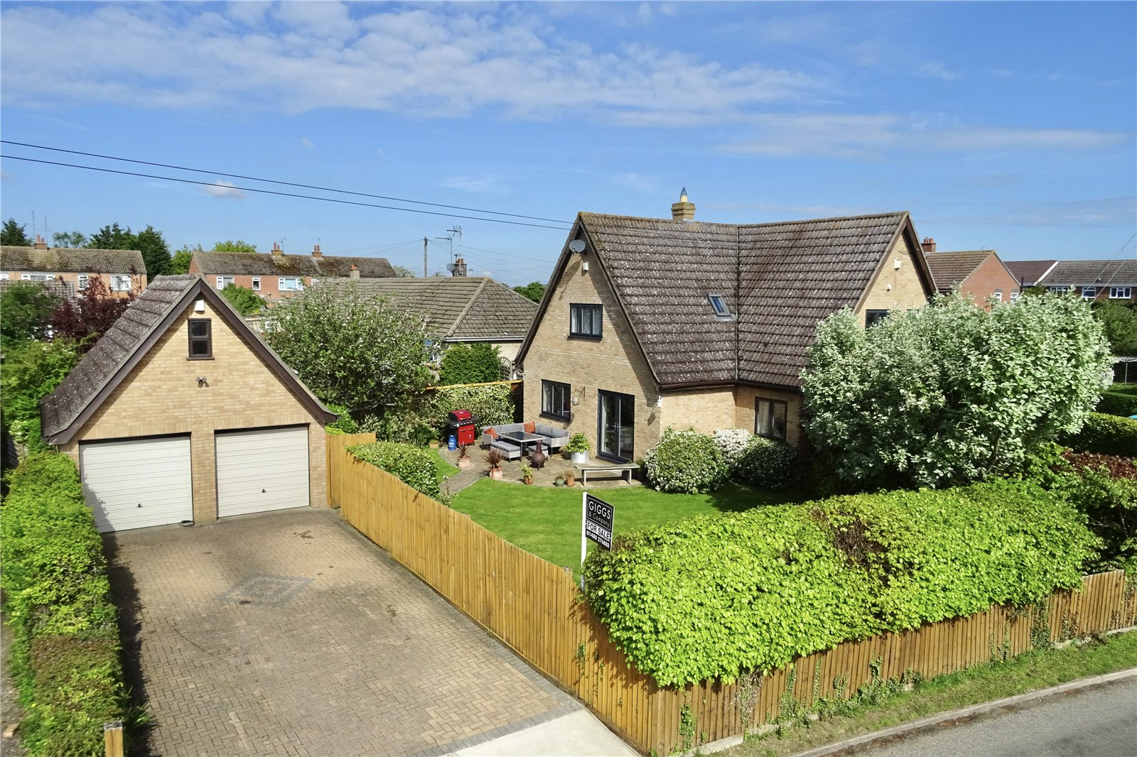 4 bed house for sale in The Green, Ellington - Property Image 1