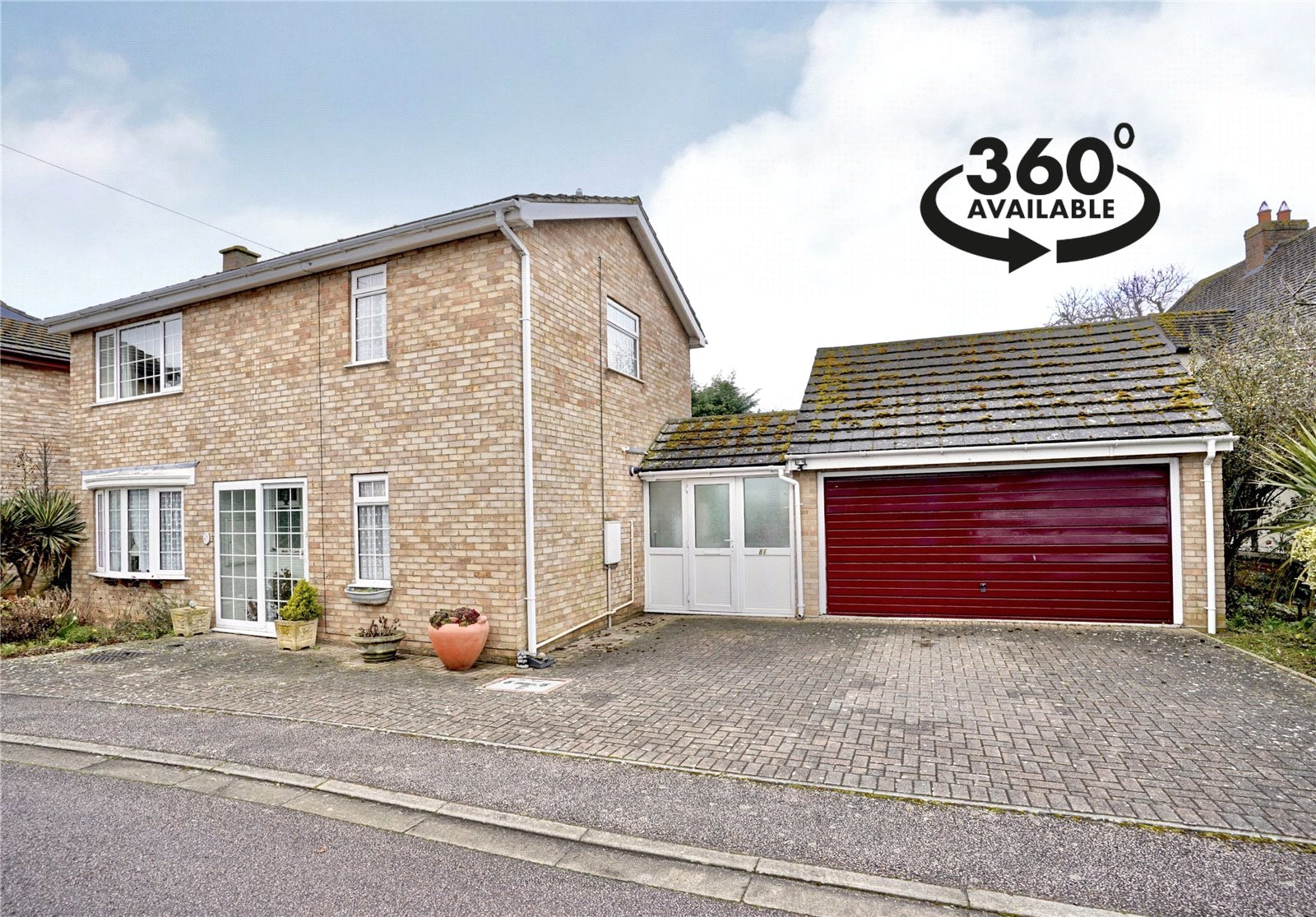 3 bed house for sale in St Neots Road, Eaton Ford  - Property Image 1