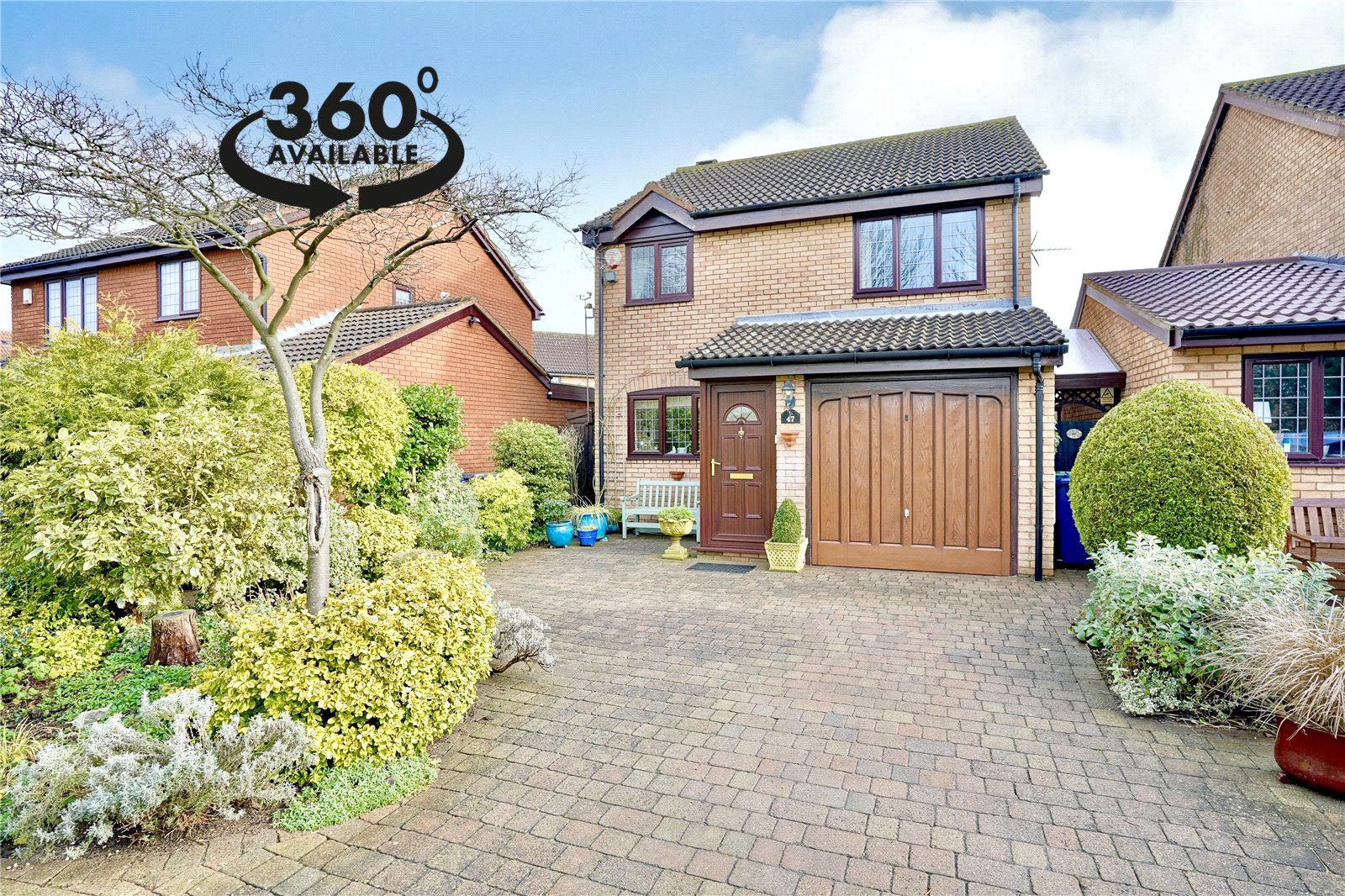3 bed house for sale in Burwell Road, Eaton Ford  - Property Image 1