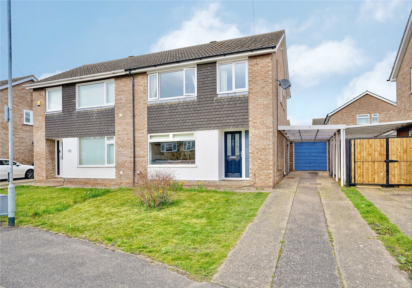 3 bed house for sale in Humberley Close, Eynesbury, PE19