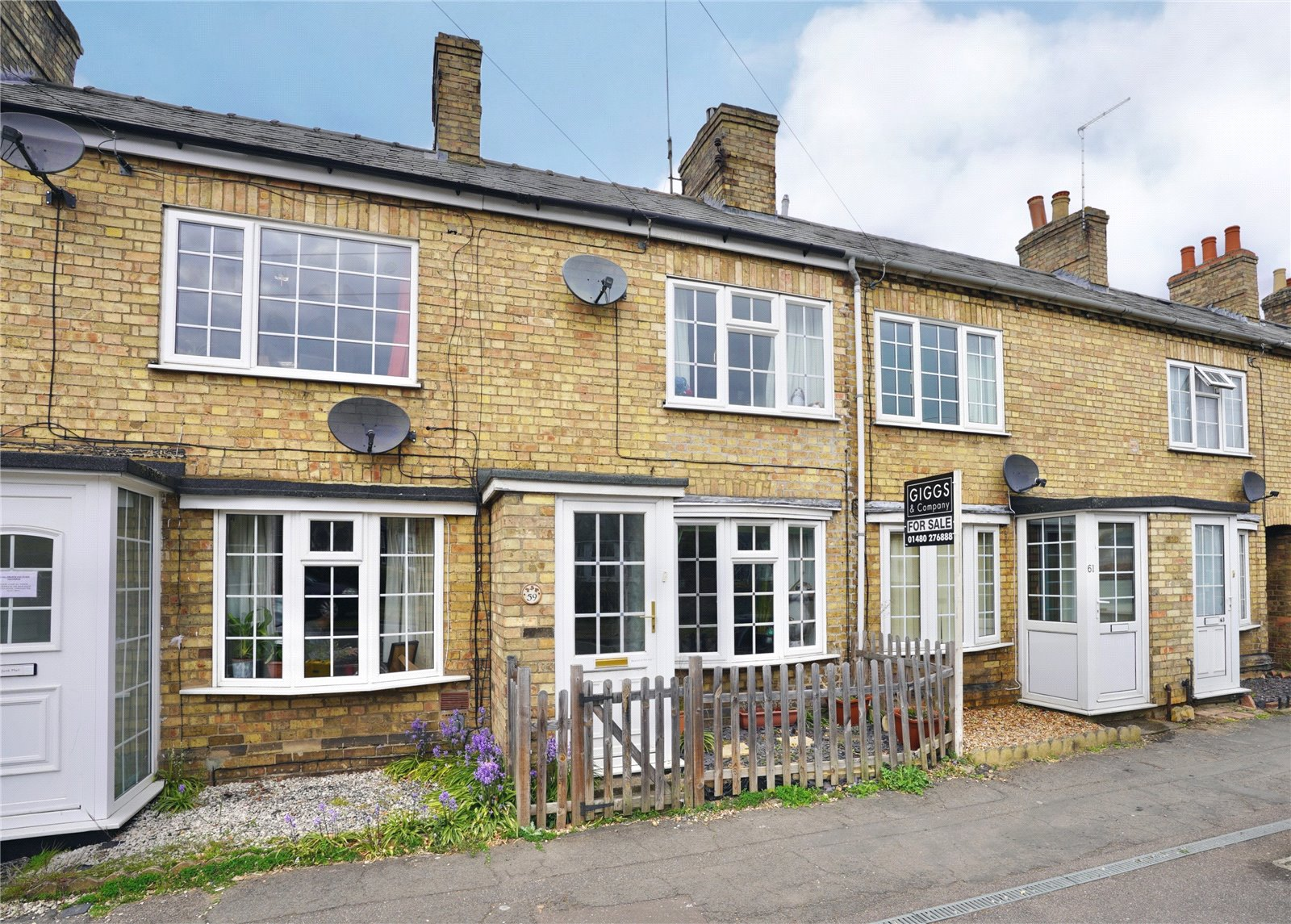 2 bed house for sale in St Neots Road, Eaton Ford  - Property Image 1