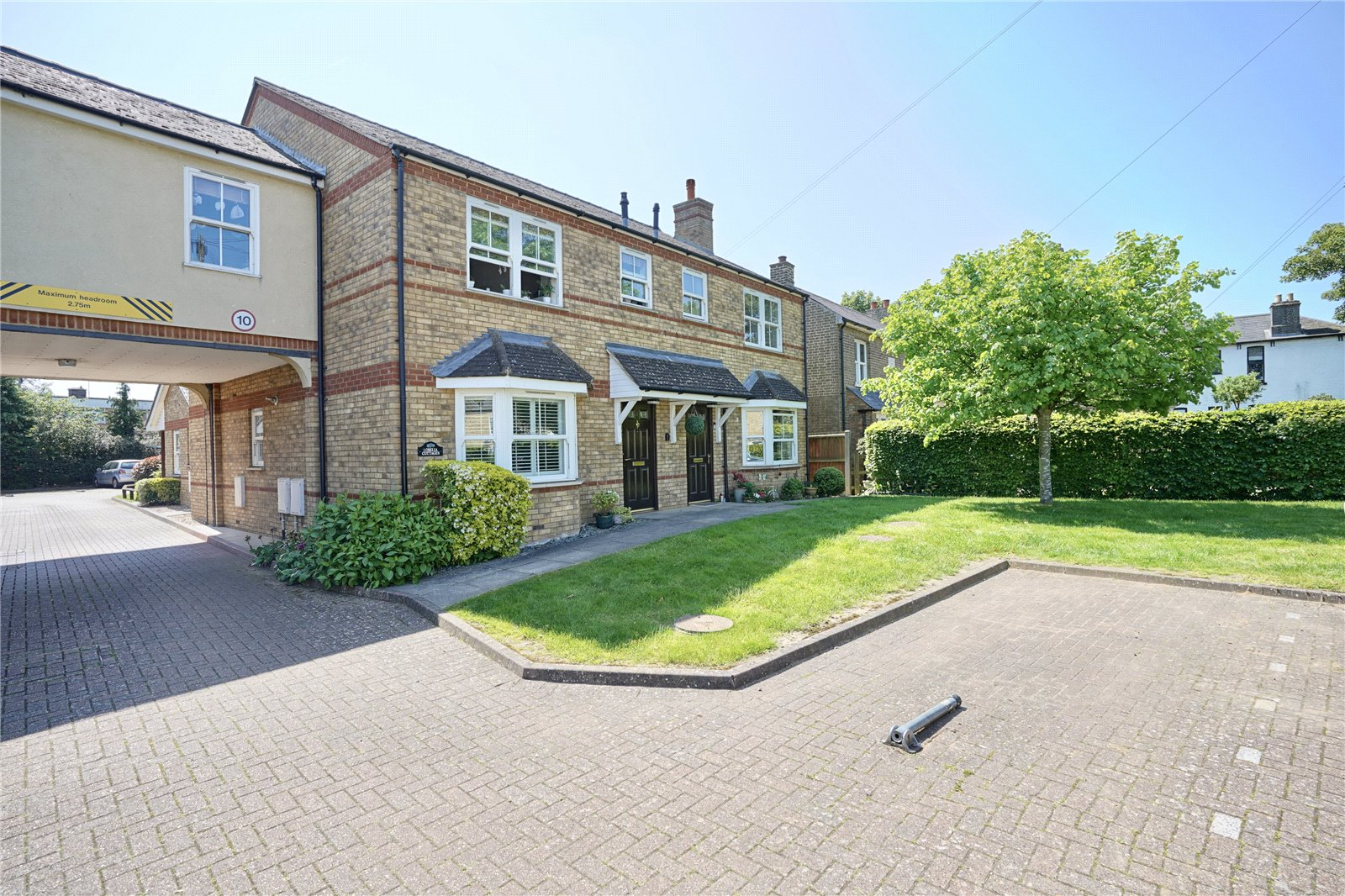 2 bed apartment for sale in St. Neots Road, Eaton Ford  - Property Image 1