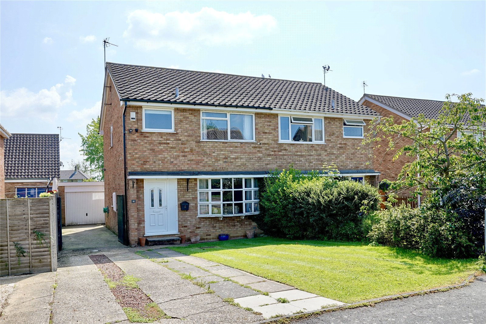 3 bed house for sale in Beachampstead Road, Great Staughton, PE19