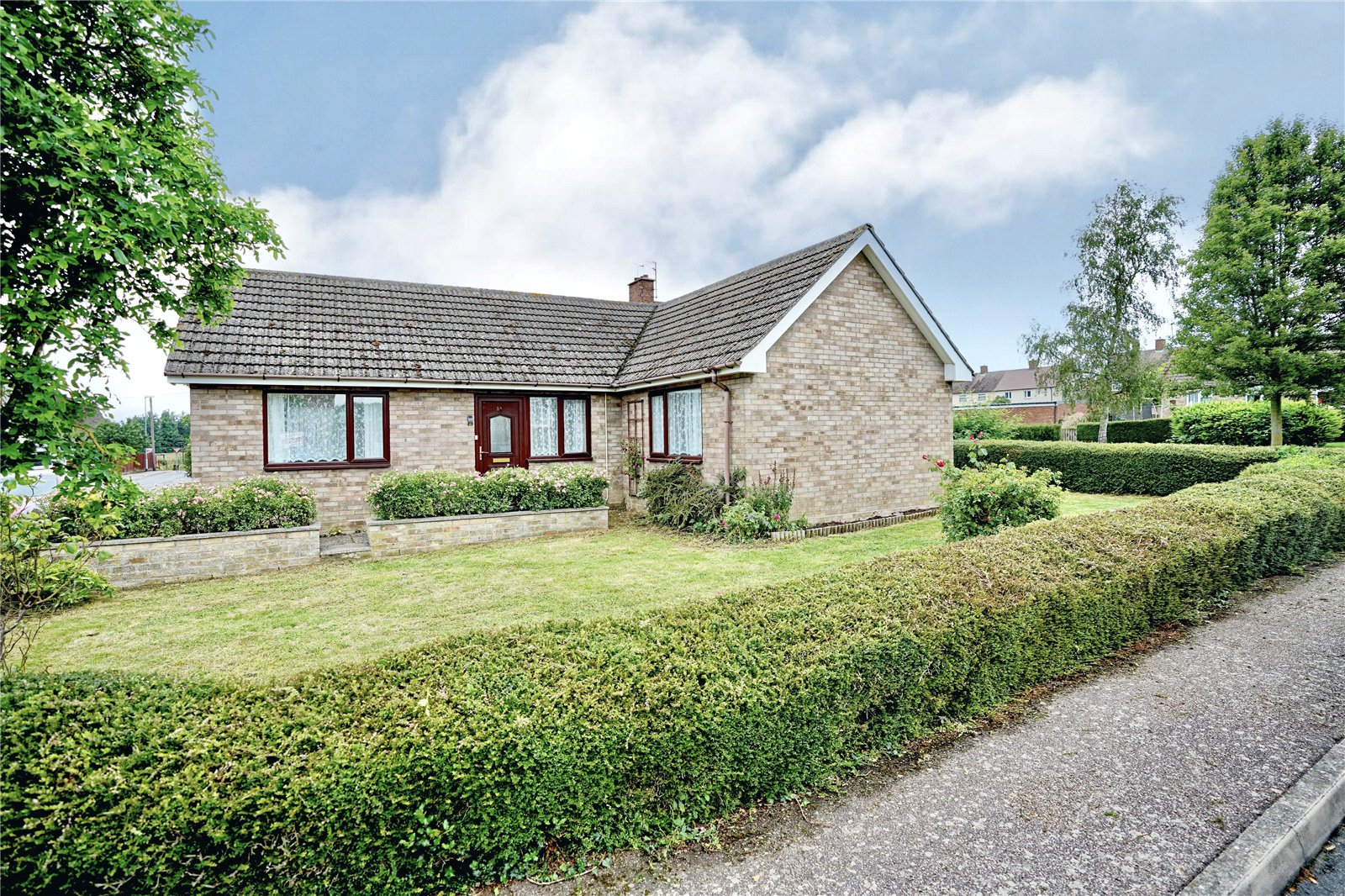 2 bed bungalow for sale in Brookside, Great Paxton, PE19