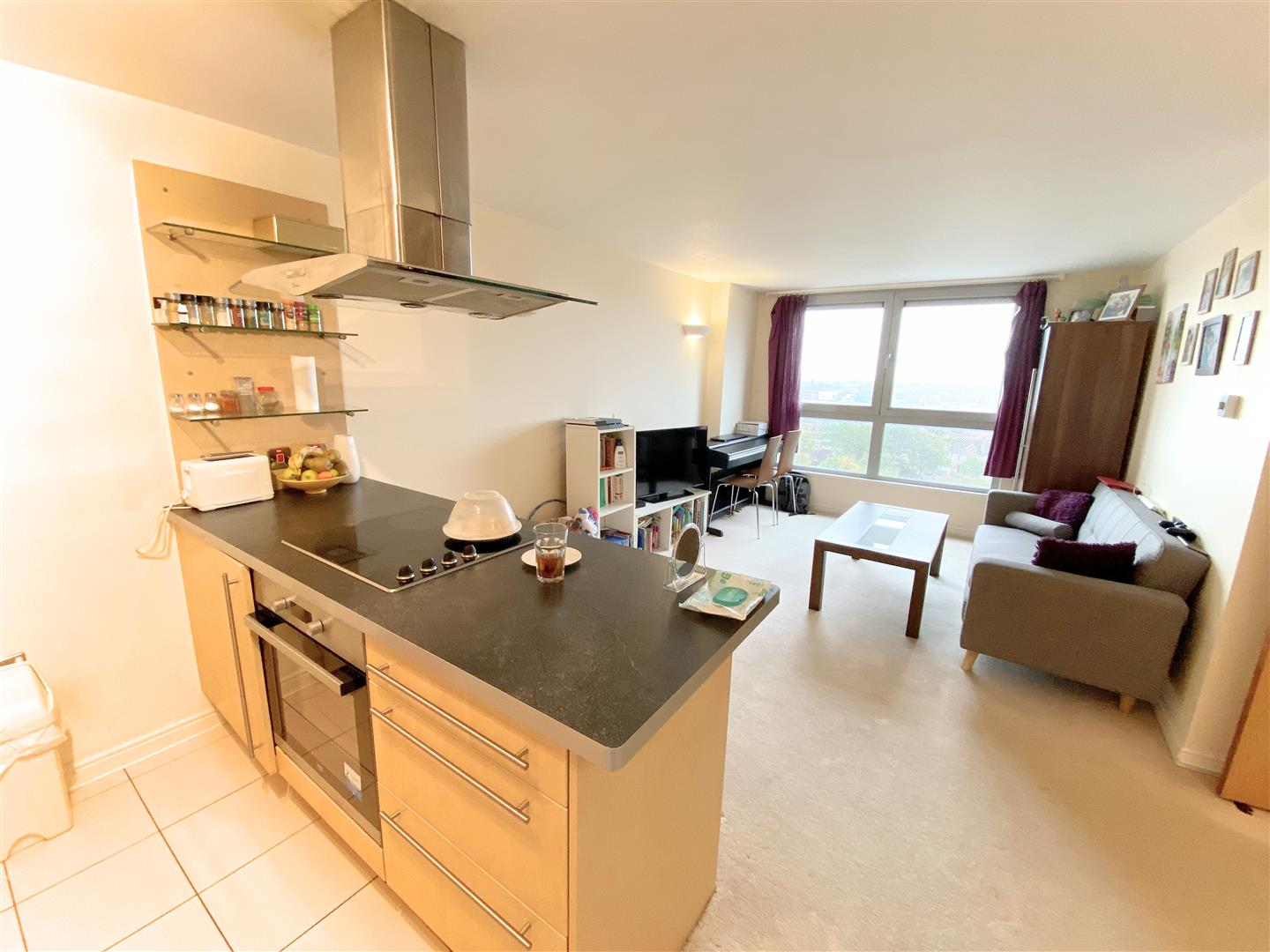 Flat to rent in Aspects, 1 Throwley Way  - Property Image 2