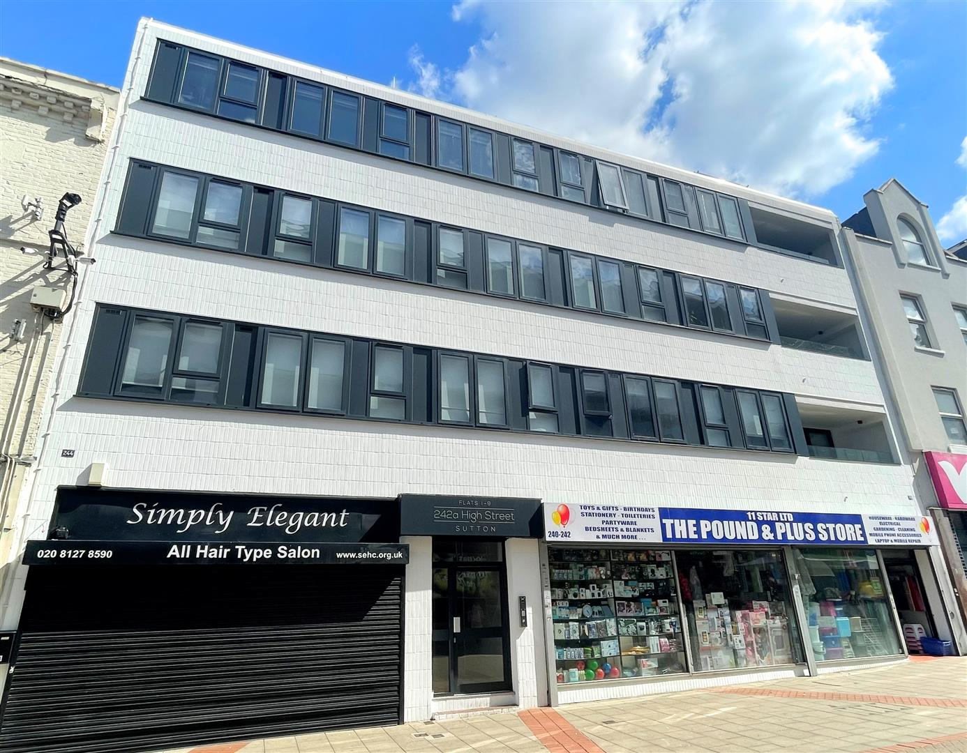 2 bed flat to rent in 242a High Street, Sutton 13