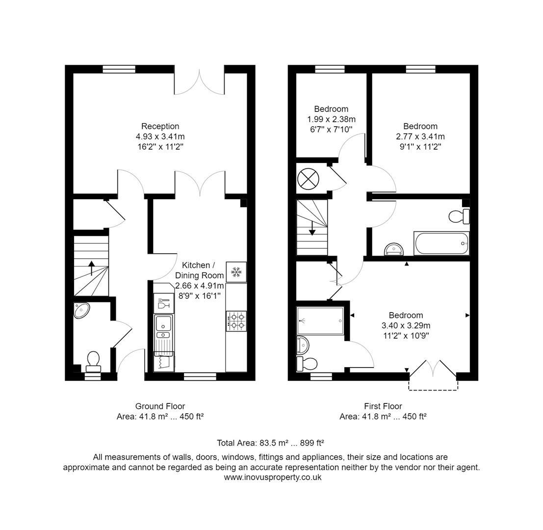 House to rent in Bartholomew Square, Bristol - Property Floorplan