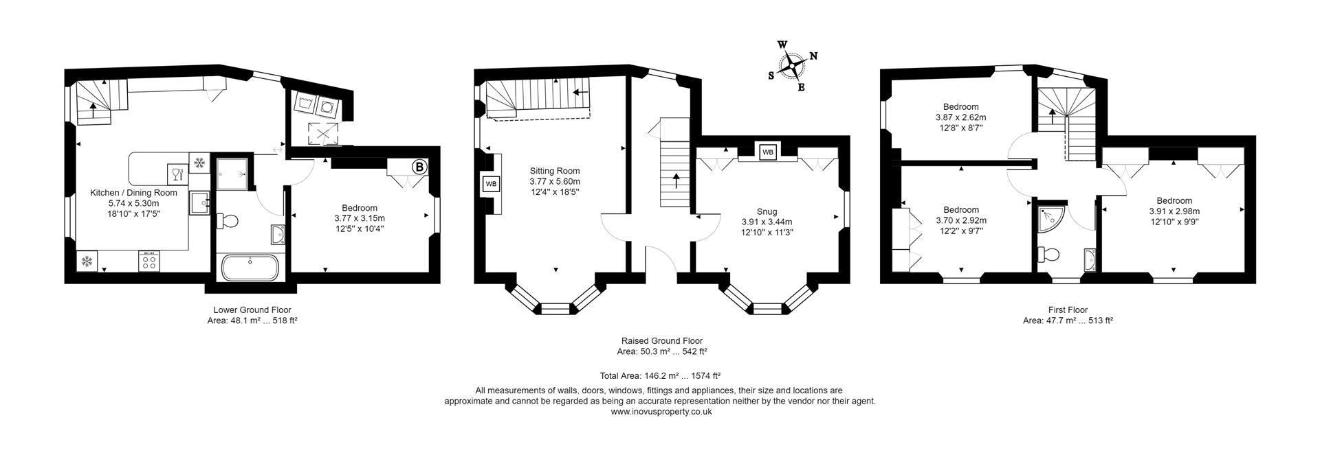 4 bed detached house for sale in Goldney Road, Bristol - Property Floorplan