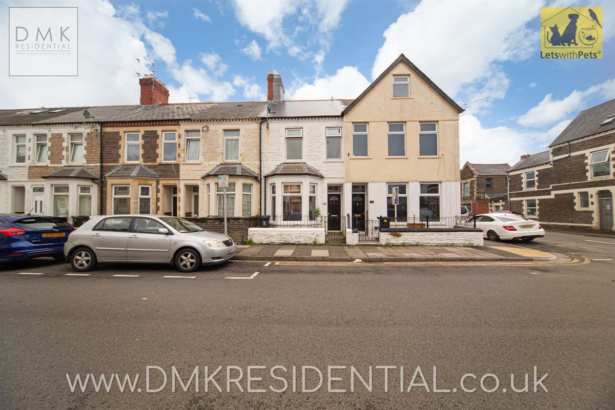 3 bed terraced house to rent in Arabella Street, Cardiff, CF24