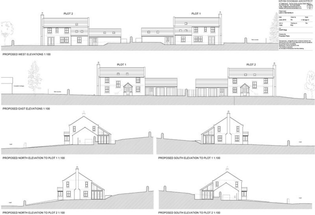 An exciting development opportunity which will appeal to both developers and self-builders. One of two building plots with full planning permission for 4 bedroom family homes situated on the outskirts of the village of Stannersburn. These plots have the benefit of stunning rural views with additional land available by separate negotiation.