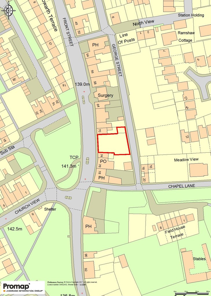 Expressions of interest invited in relation to potential development site for 9 residential units (flats/apartments). Pre-application enquiry form submitted to Durham County Council - the response shall be uploaded once available. Site area 560 sqm.