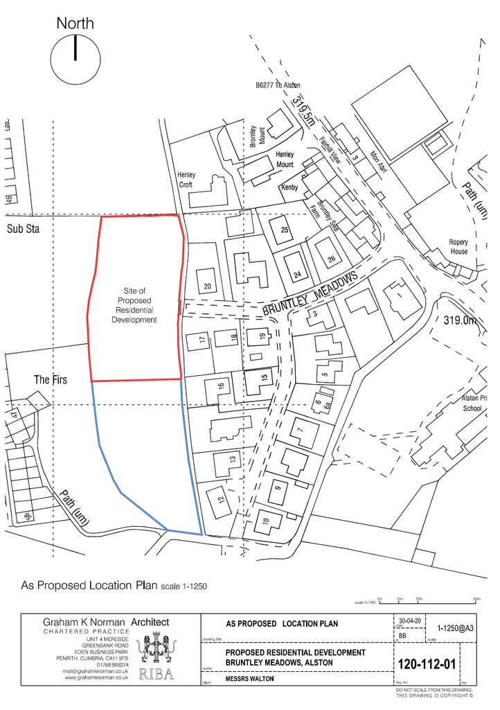 Land (commercial) for sale in Bruntley Meadows, Alston  - Property Image 2