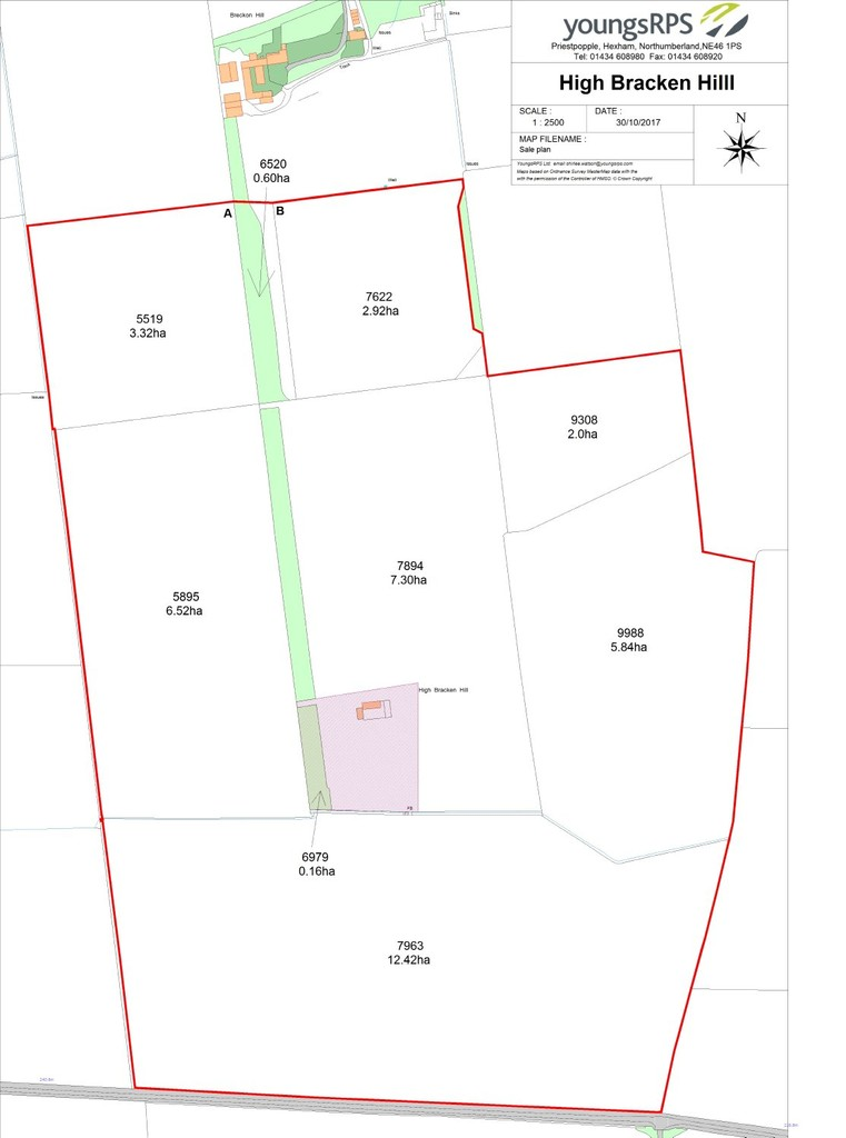 Farm land for sale in Lowgate, Hexham  - Property Image 6