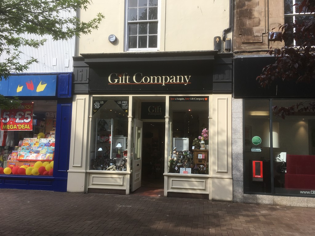The property is situated on English Street, the prime shopping street in Carlisle.